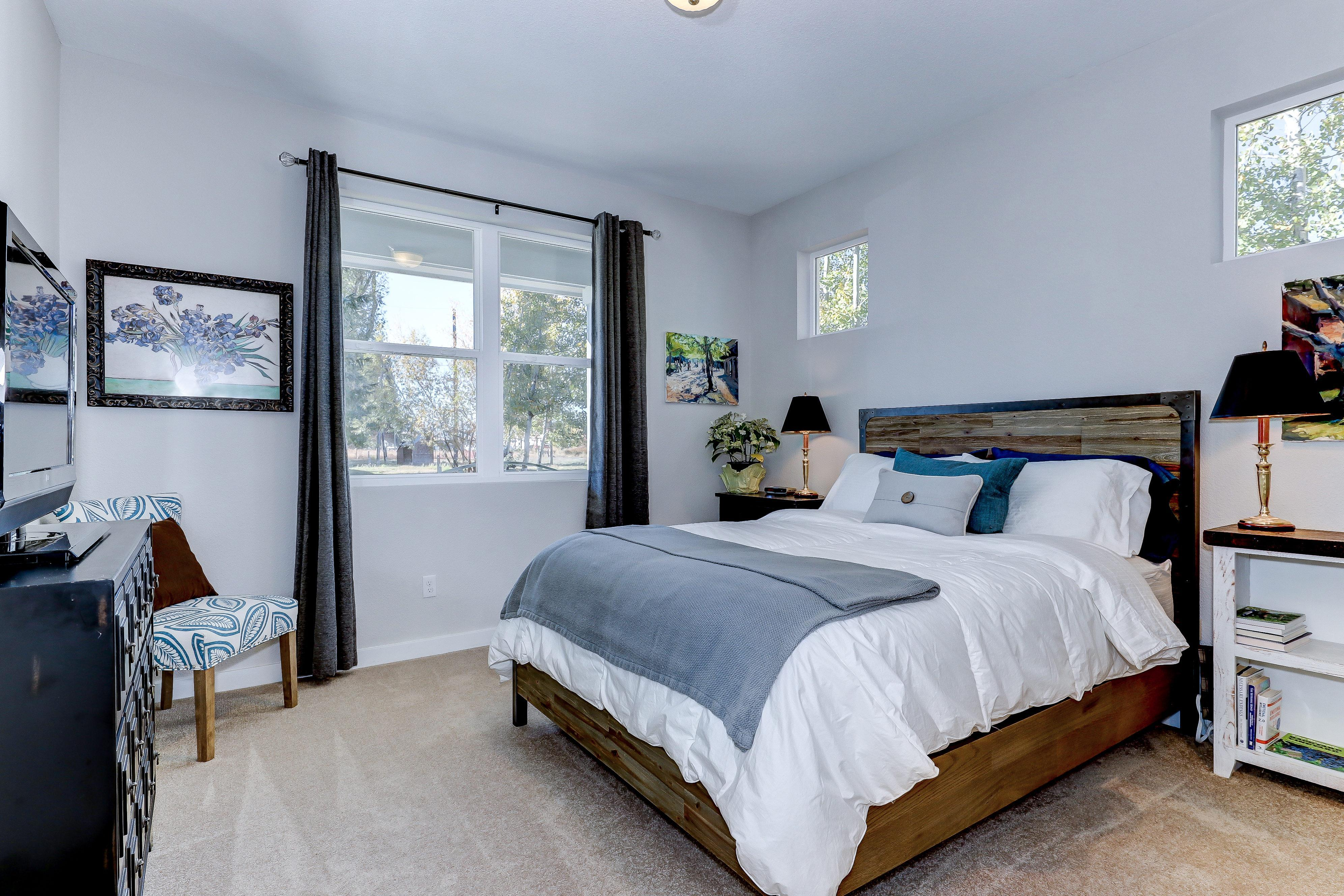 Bedroom featured in The Cottonwood - Build On Your Land By Adair Homes in Medford-Ashland, OR