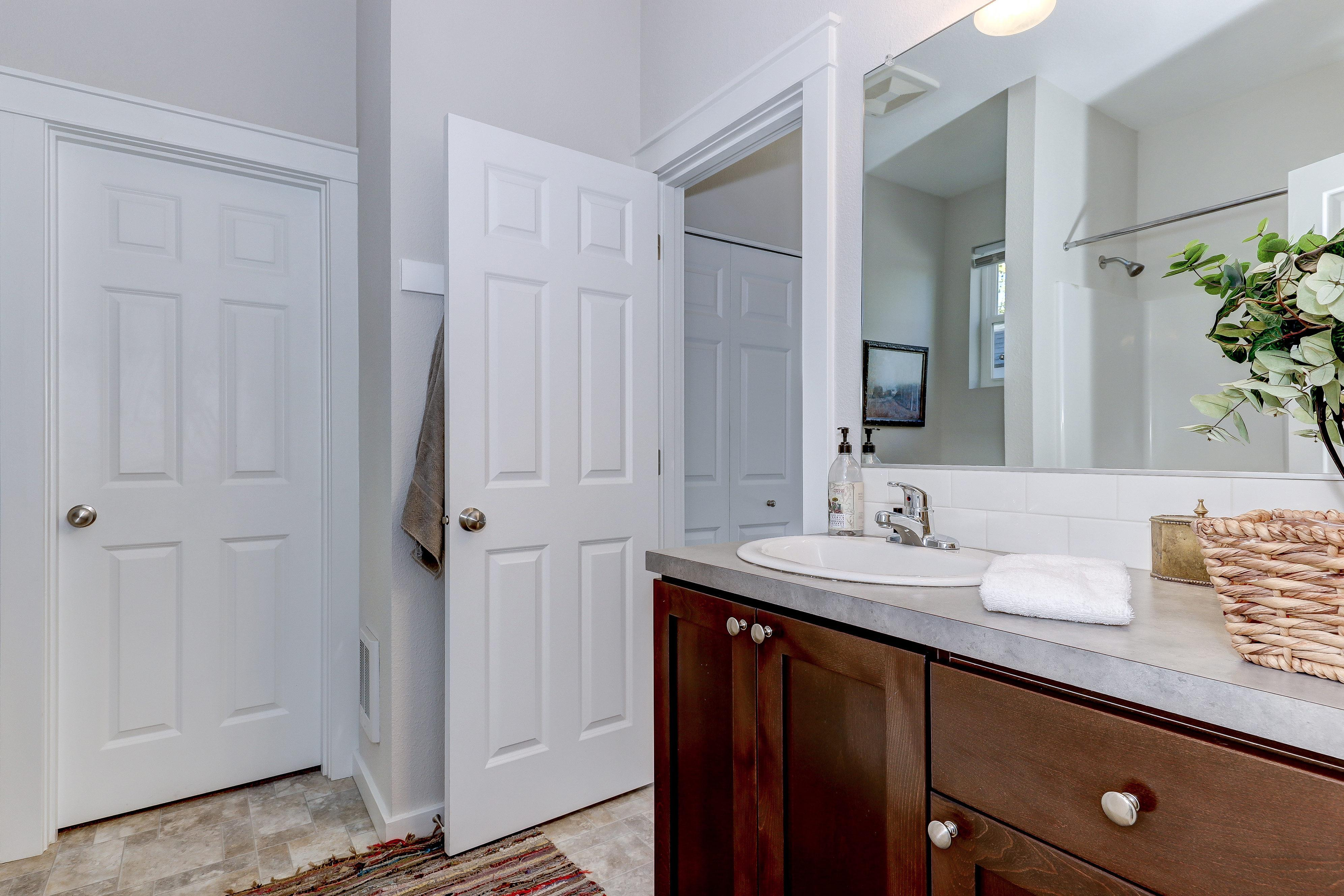 Bathroom featured in The Cottonwood - Build On Your Land By Adair Homes in Bellingham, WA