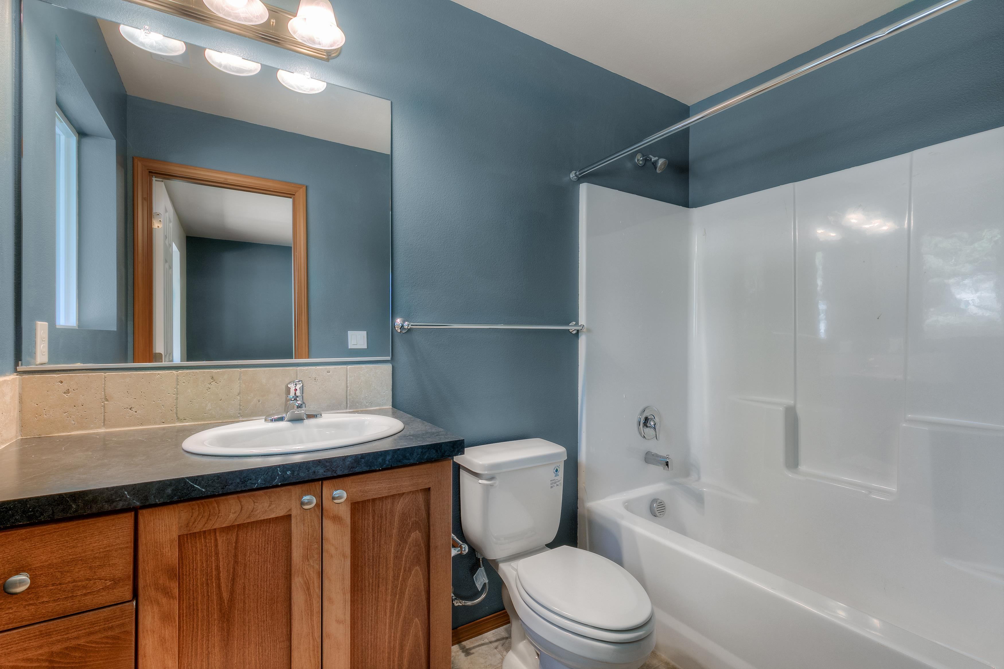 Bathroom featured in The Douglas - Build On Your Land By Adair Homes in Bellingham, WA