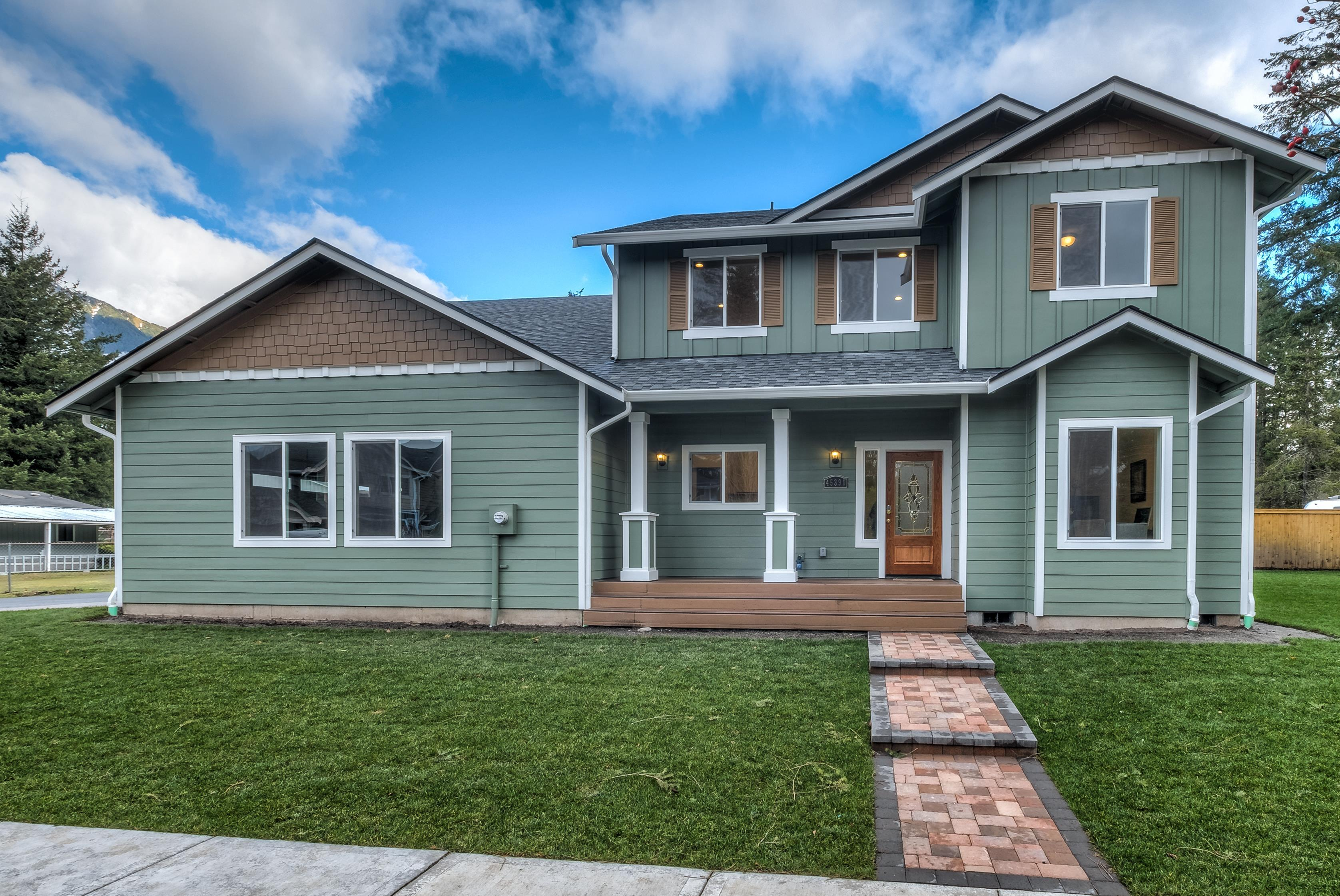 Exterior featured in The Ashland - Build On Your Land By Adair Homes in Bremerton, WA