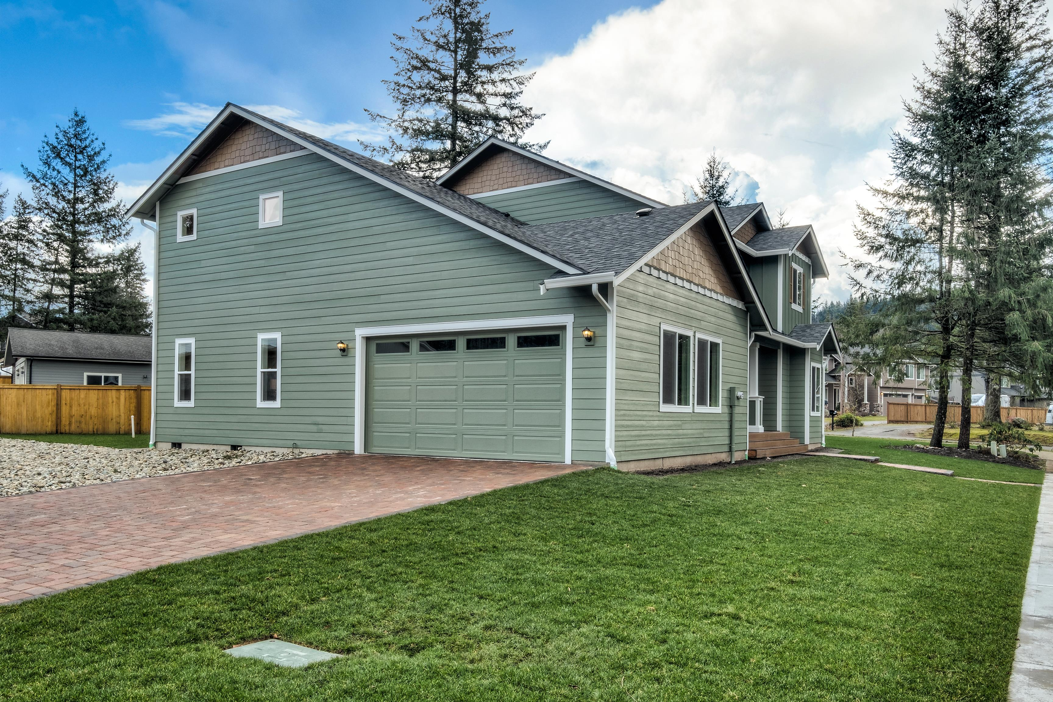 Exterior featured in The Ashland - Build On Your Land By Adair Homes in Medford-Ashland, OR