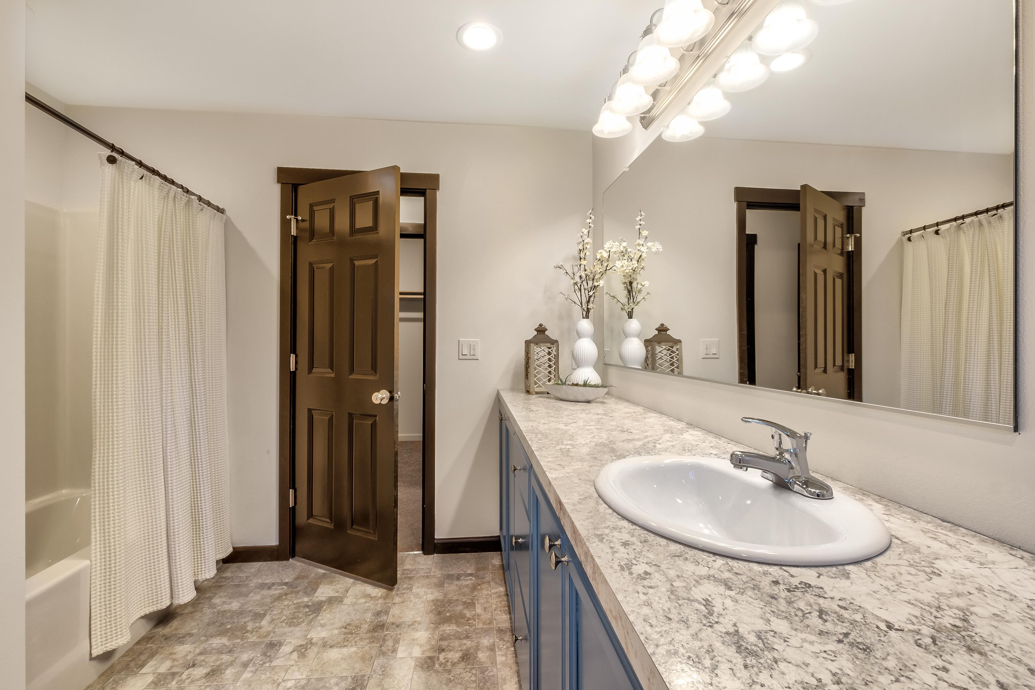 Bathroom featured in The Ashland - Build On Your Land By Adair Homes in Eugene-Springfield, OR