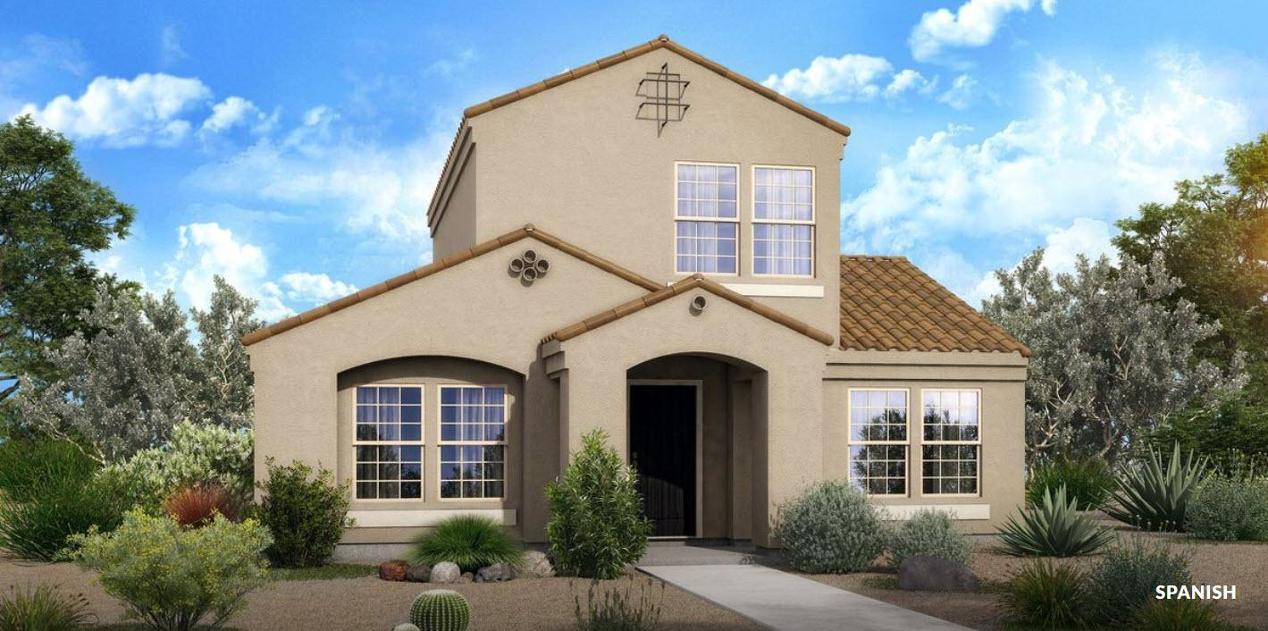 Exterior featured in The Rio - Built On Your Land By Adair Homes in Tucson, AZ