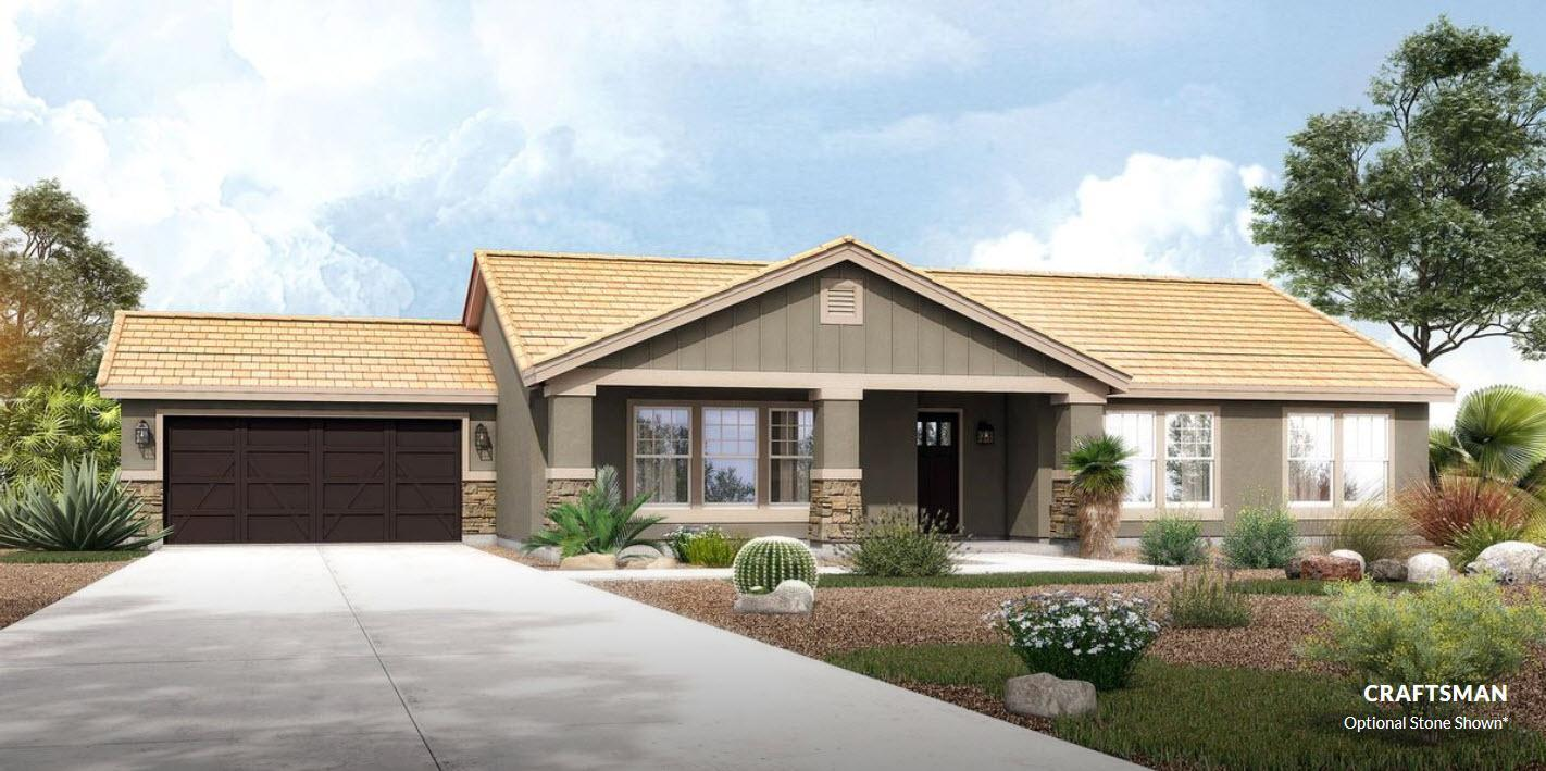 Exterior featured in The Roosevelt - Build On Your Land By Adair Homes in Phoenix-Mesa, AZ