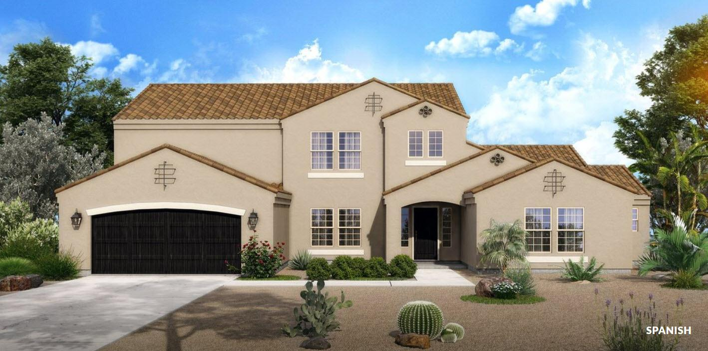 Exterior featured in The Chapman - Build On Your Land By Adair Homes in Phoenix-Mesa, AZ