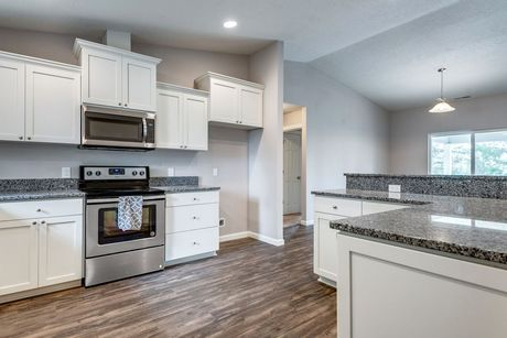 Kitchen-in-The Willamette - Build On Your Lot-at-Mid Columbia Valley-in-Kennewick