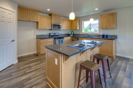 Kitchen-in-The Gallatin - Build On Your Lot-at-North Willamette Valley-in-Aurora