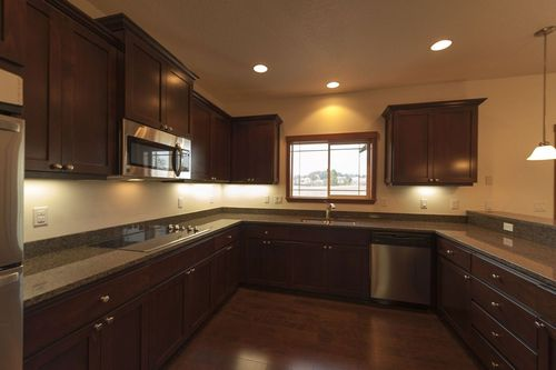 Kitchen-in-The Caldera - Build On Your Lot-at-Southern Oregon-in-Central Point
