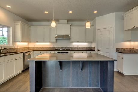 Kitchen-in-The Cascades - Build On Your Lot-at-North Willamette Valley-in-Aurora