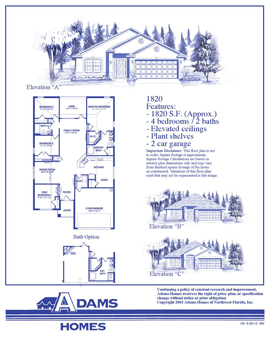 New Homes | Search Home Builders and New Homes for Sale ... on adams homes model 2265, adams homes layout, adams homes 1820 plan, adams homes 2169 model, adams homes model 3000, adams homes 2240 model, adams homes model 2010, your plans, adams 3000 floor plan interior, adams homes kitchens, adams home plans by number, adams homes 2508 plan, adams homes gulf breeze fl,