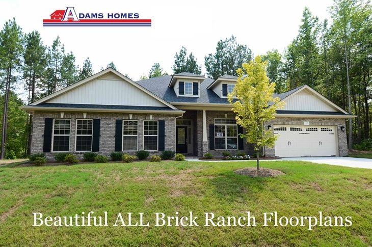 Beautiful All Brick Floorplans
