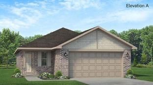 Plan 1602 - Vanbrooke: Brookshire, Texas - Adams Homes