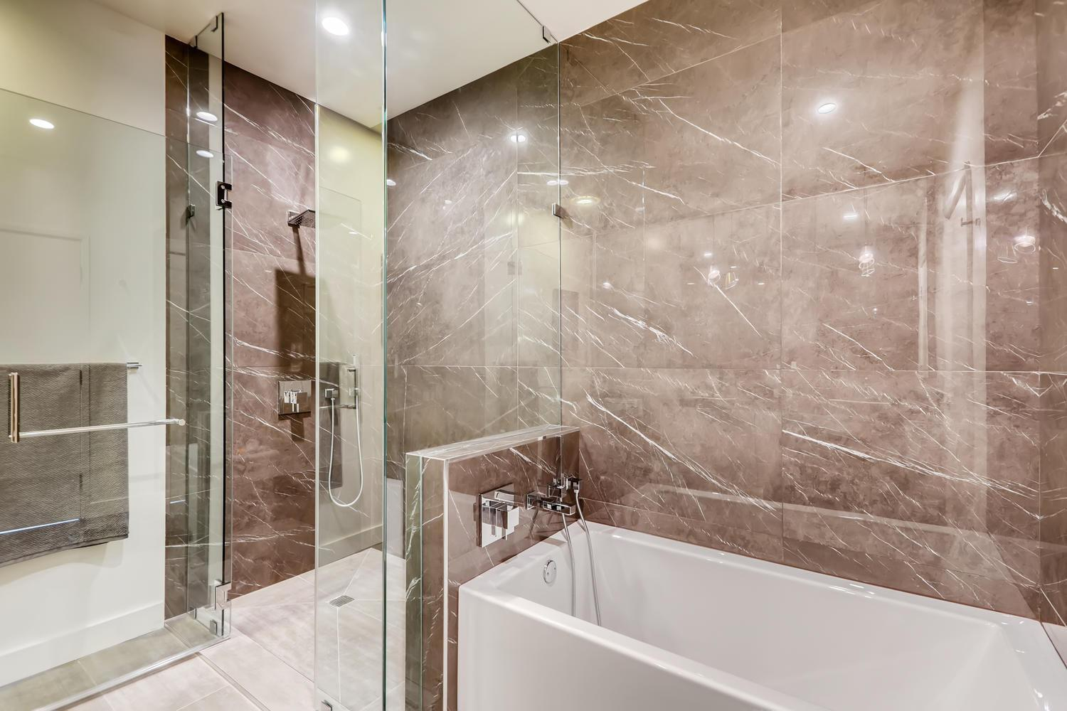 Bathroom featured in the Plan C By Adept Urban  in Los Angeles, CA