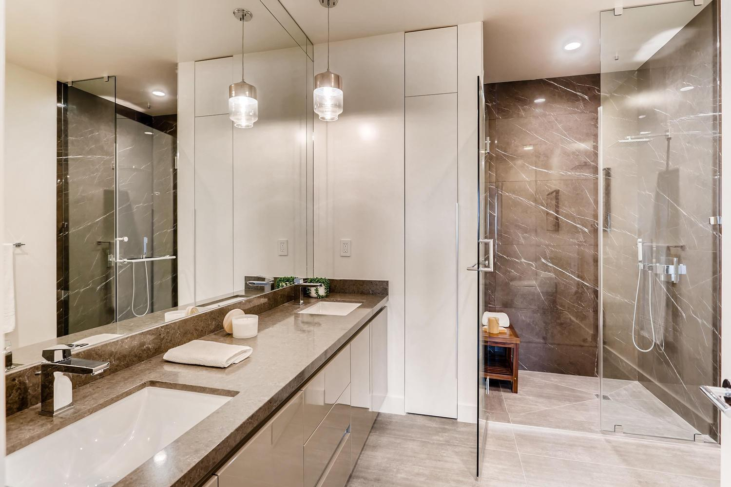 Bathroom featured in the Plan D By Adept Urban  in Los Angeles, CA