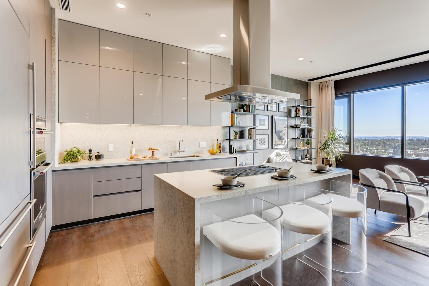 Kitchen featured in the Penthouse 6 By Adept Urban  in Los Angeles, CA