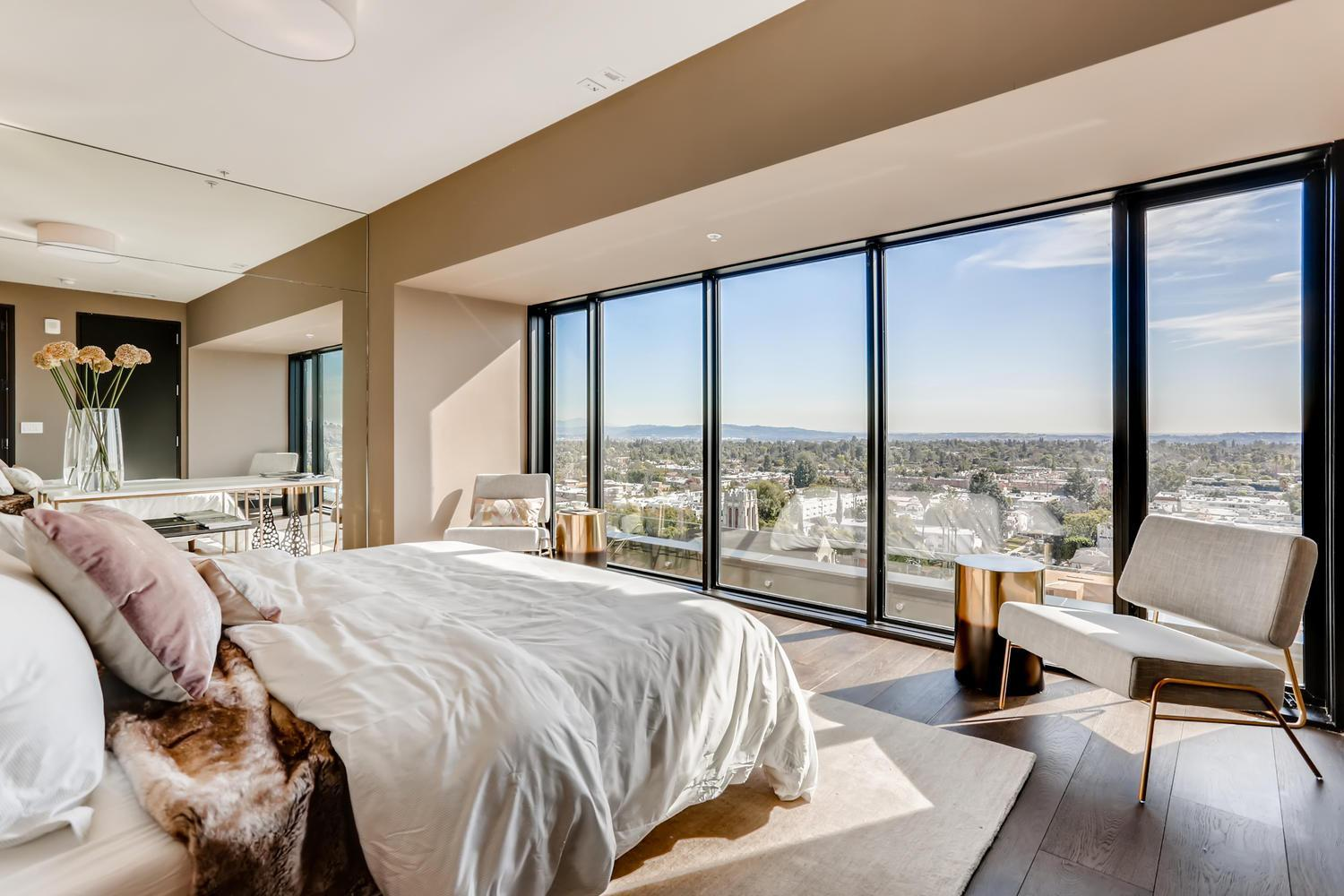 Bedroom featured in the Penthouse 6 By Adept Urban  in Los Angeles, CA