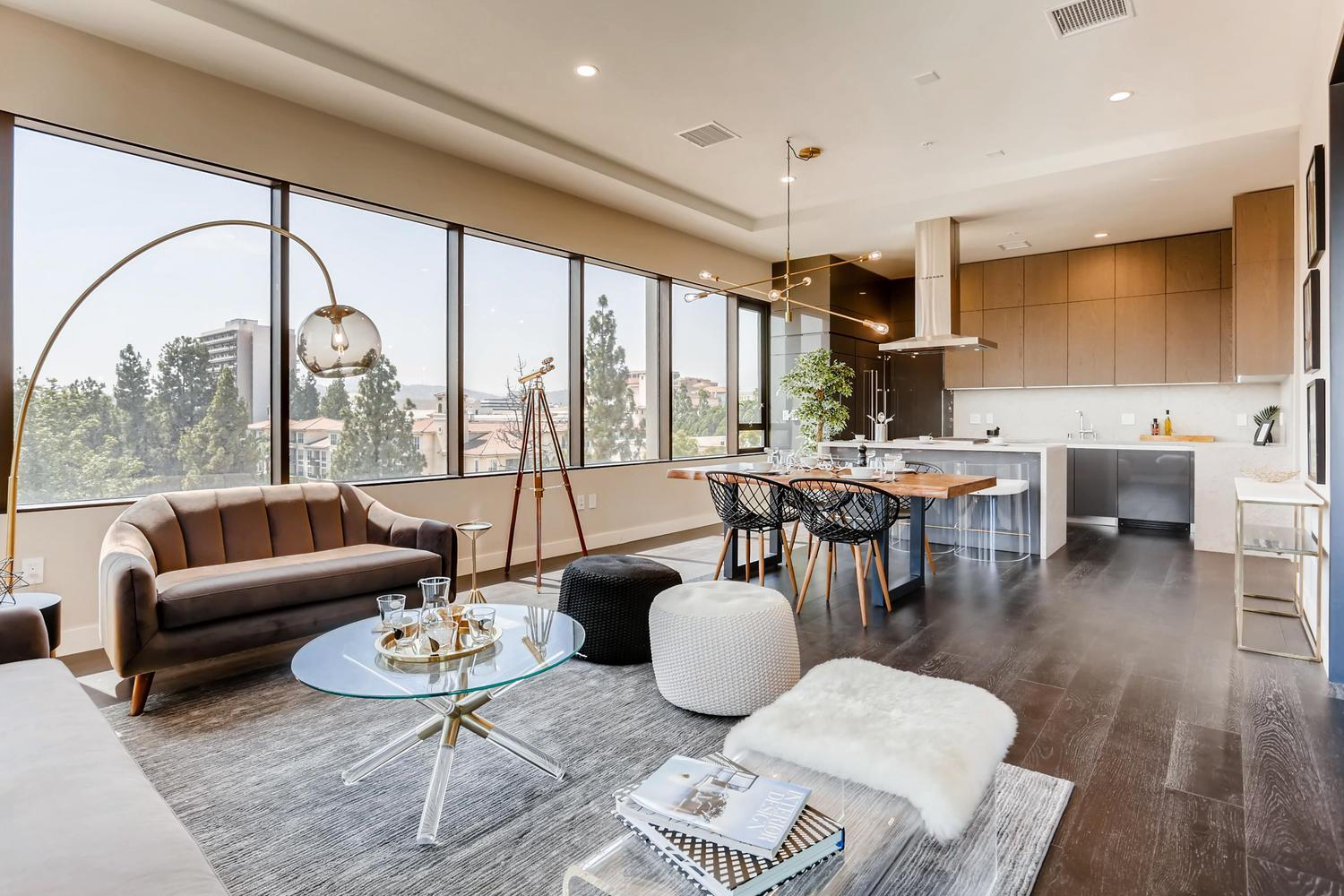 Living Area featured in the Plan E By Adept Urban  in Los Angeles, CA