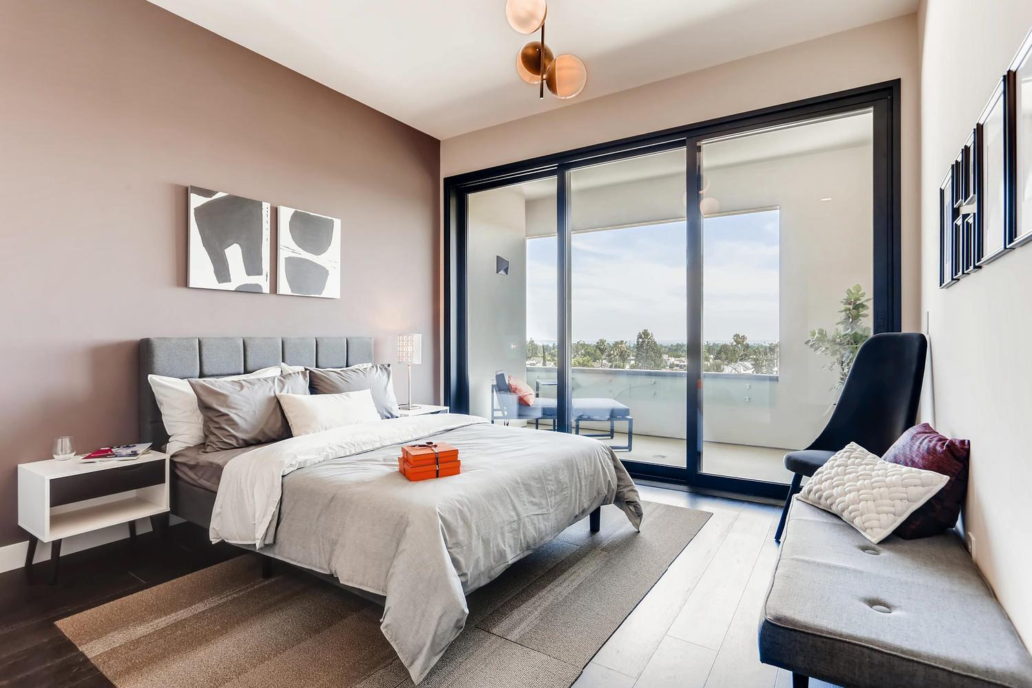 Bedroom featured in the Plan E By Adept Urban  in Los Angeles, CA