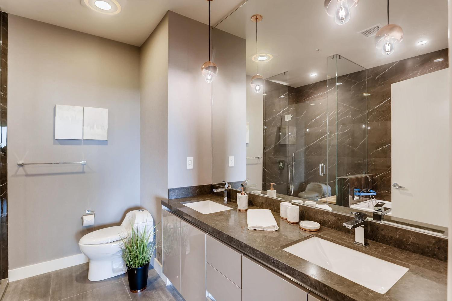 Bathroom featured in the Plan E By Adept Urban  in Los Angeles, CA