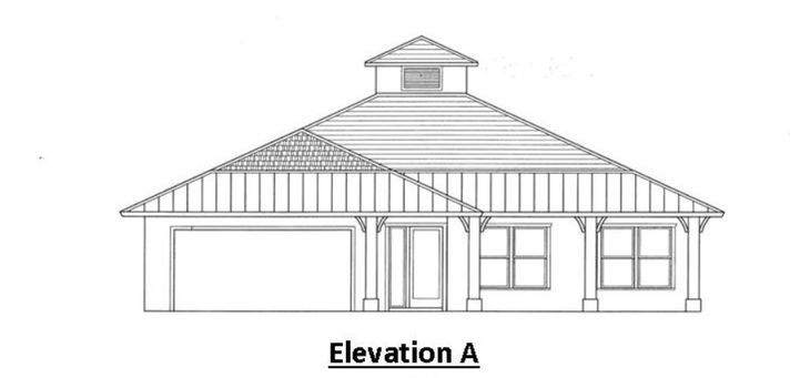 The Somerset:Elevation A