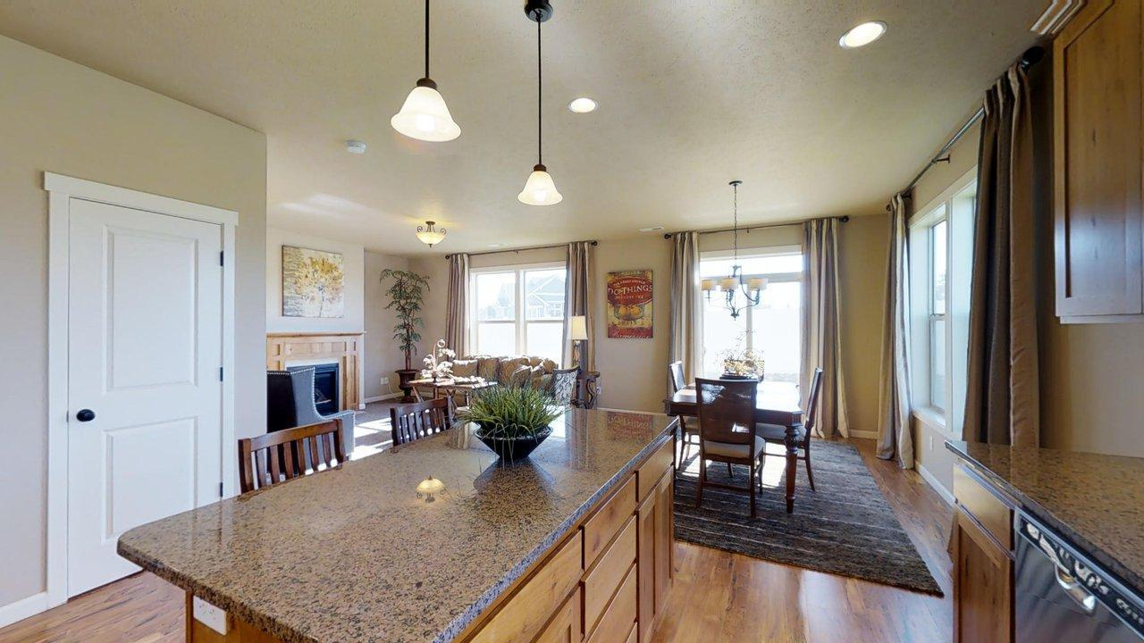 Living Area featured in the 2364 By Aho Construction I, Inc. in Yakima, WA