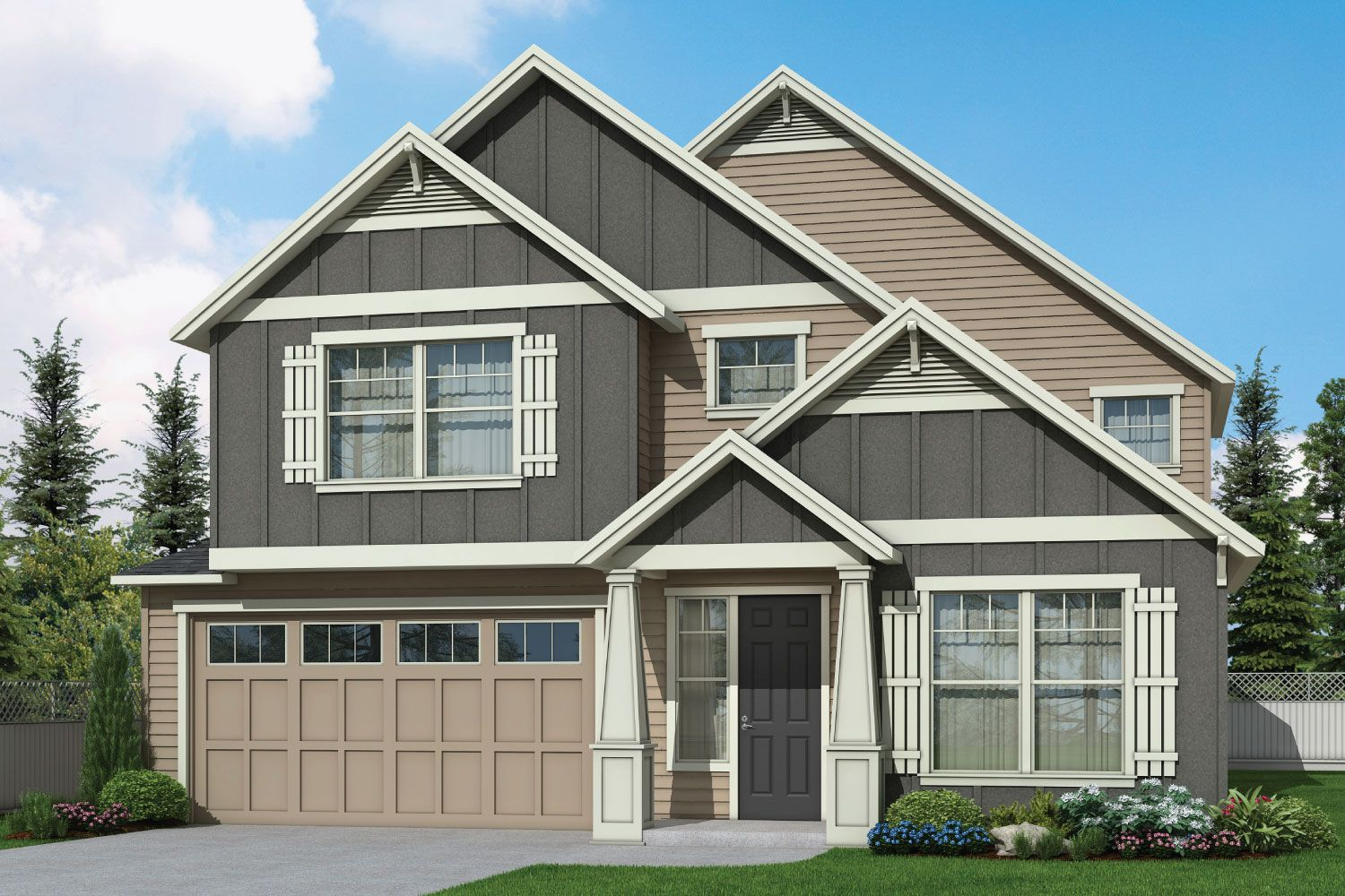 Exterior featured in the 2740 By Aho Construction I, Inc. in Yakima, WA
