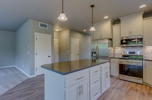 Kitchen-in-408 Stone Park-at-Stone Forest-in-Kalama