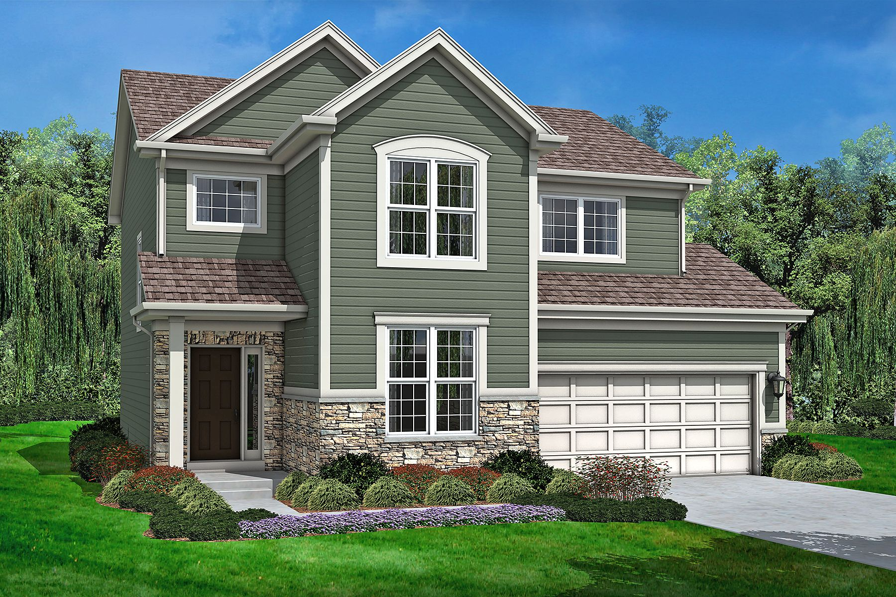 New Construction Homes And Floor Plans In Algonquin Il