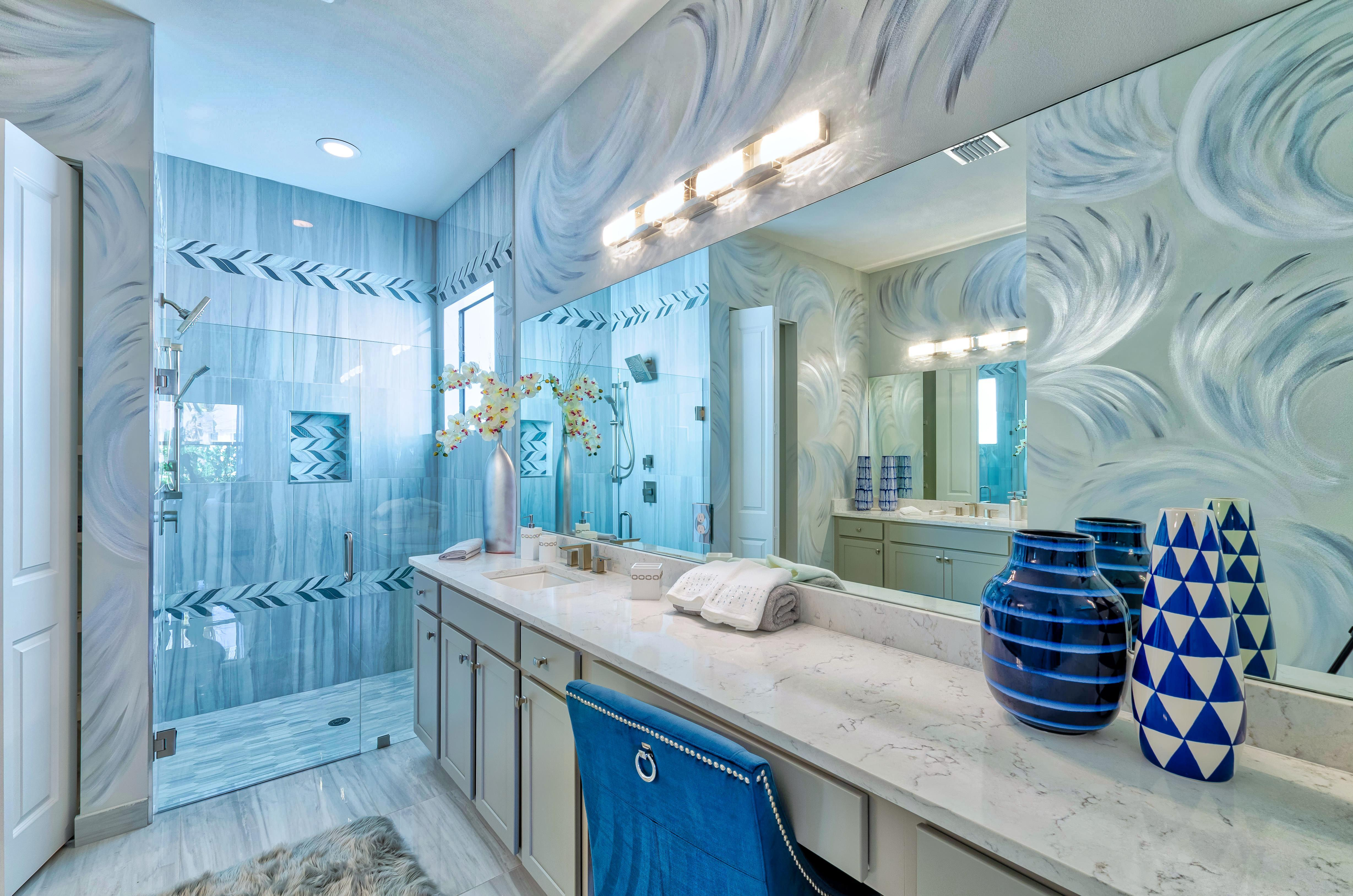 Bathroom featured in the Isla By Akel Homes in Palm Beach County, FL