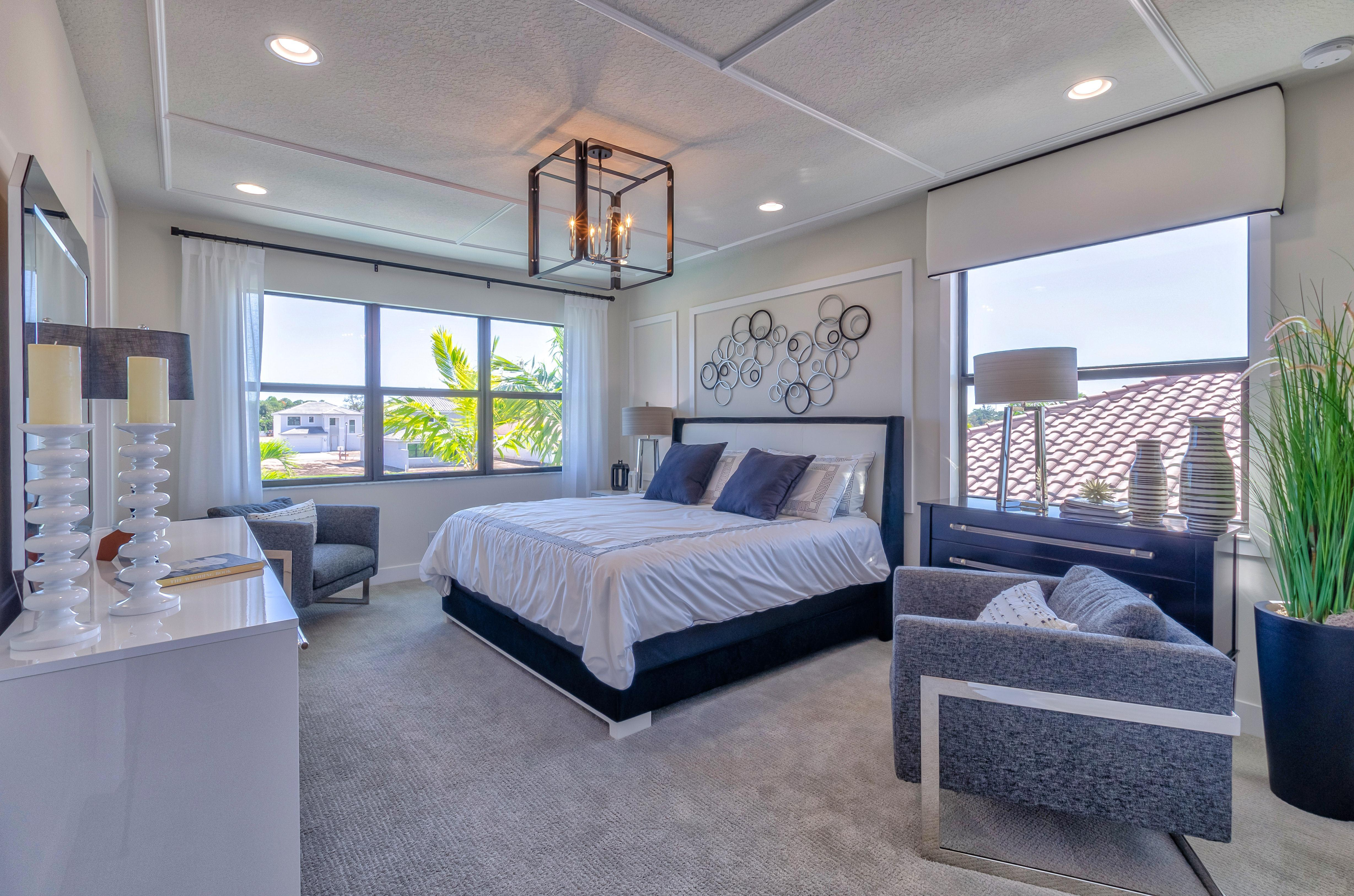 Bedroom featured in the Costa By Akel Homes in Palm Beach County, FL