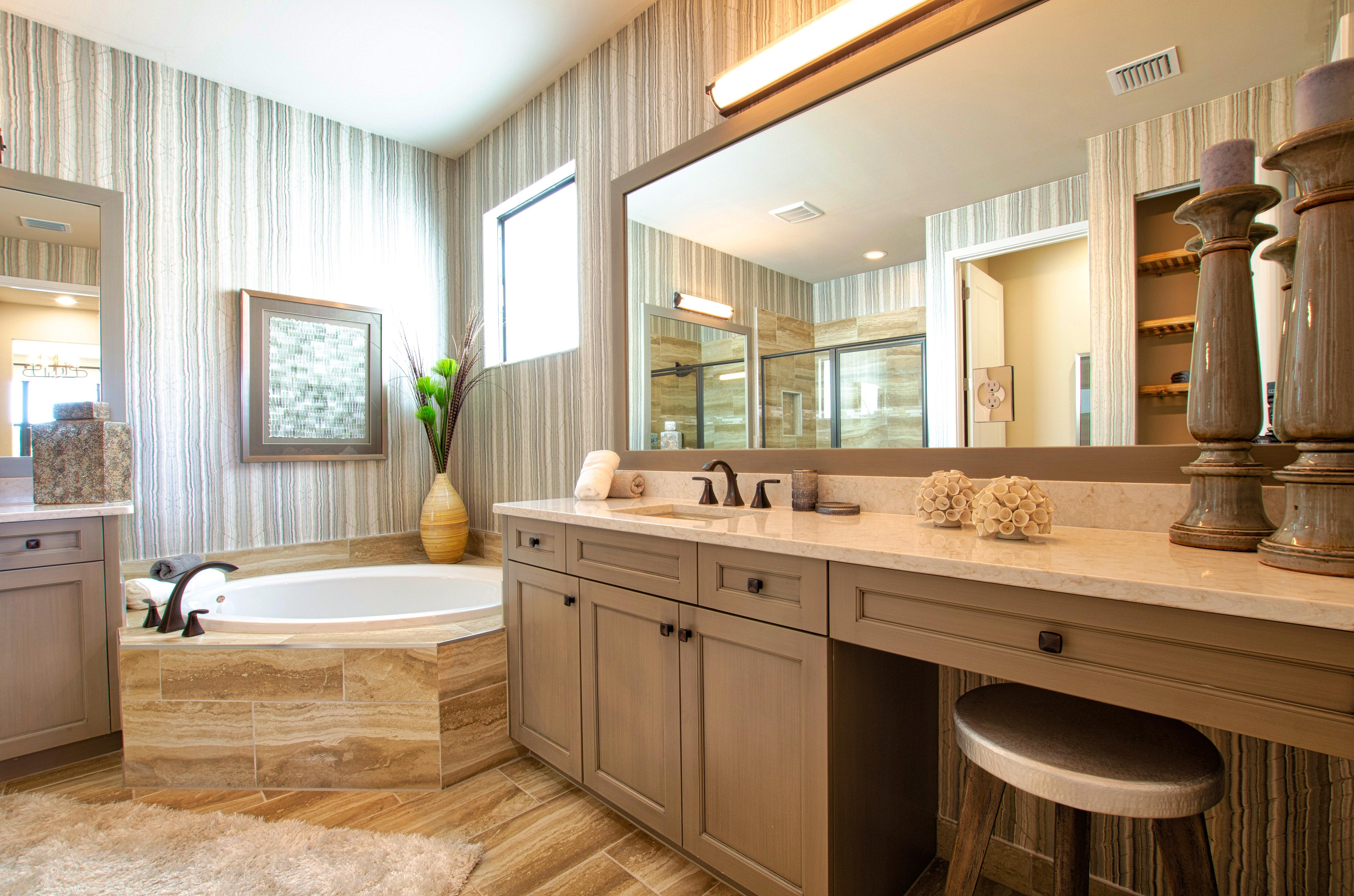 Bathroom featured in the Sierra By Akel Homes in Palm Beach County, FL