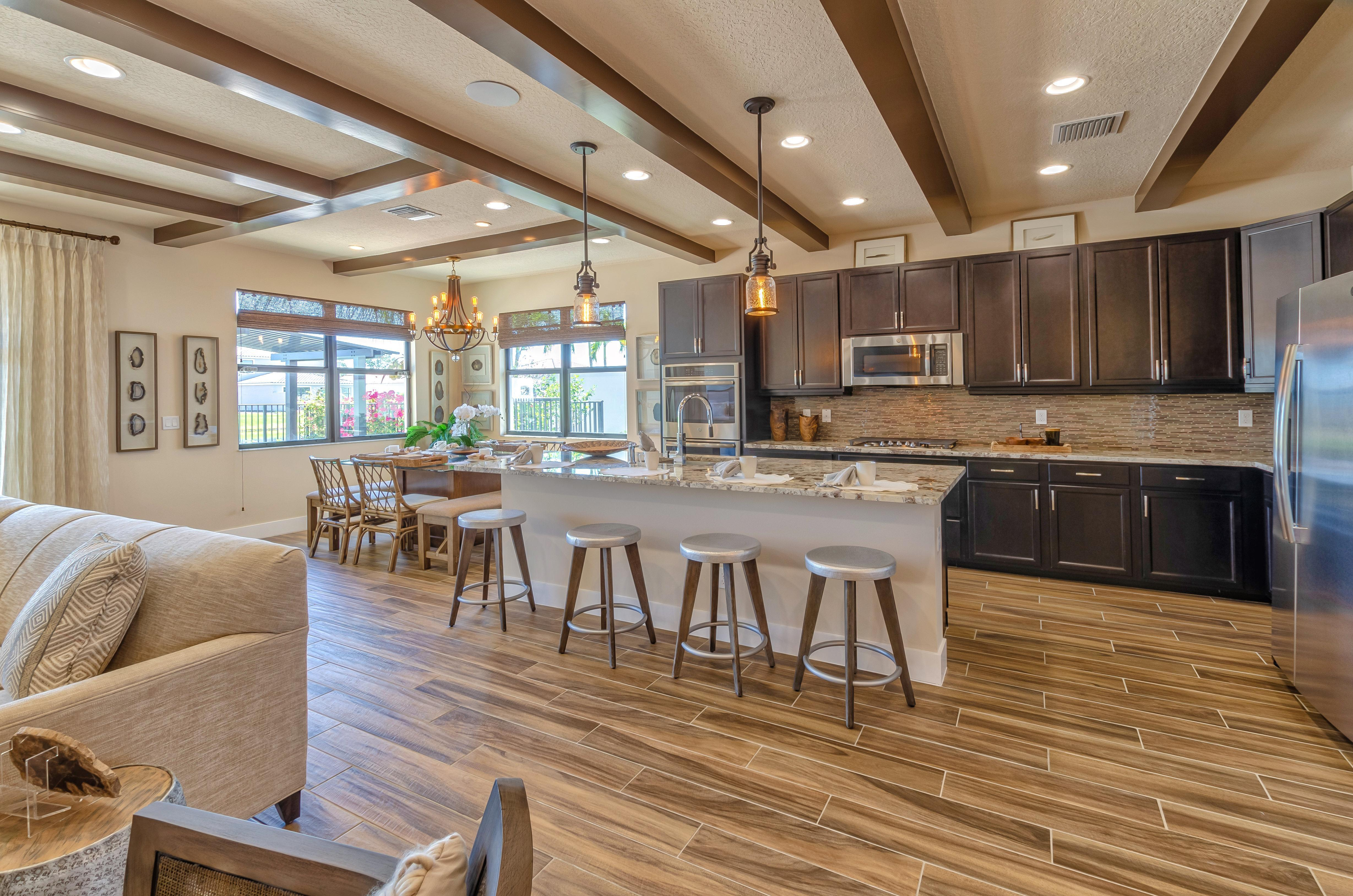 Living Area featured in the Sierra By Akel Homes in Palm Beach County, FL