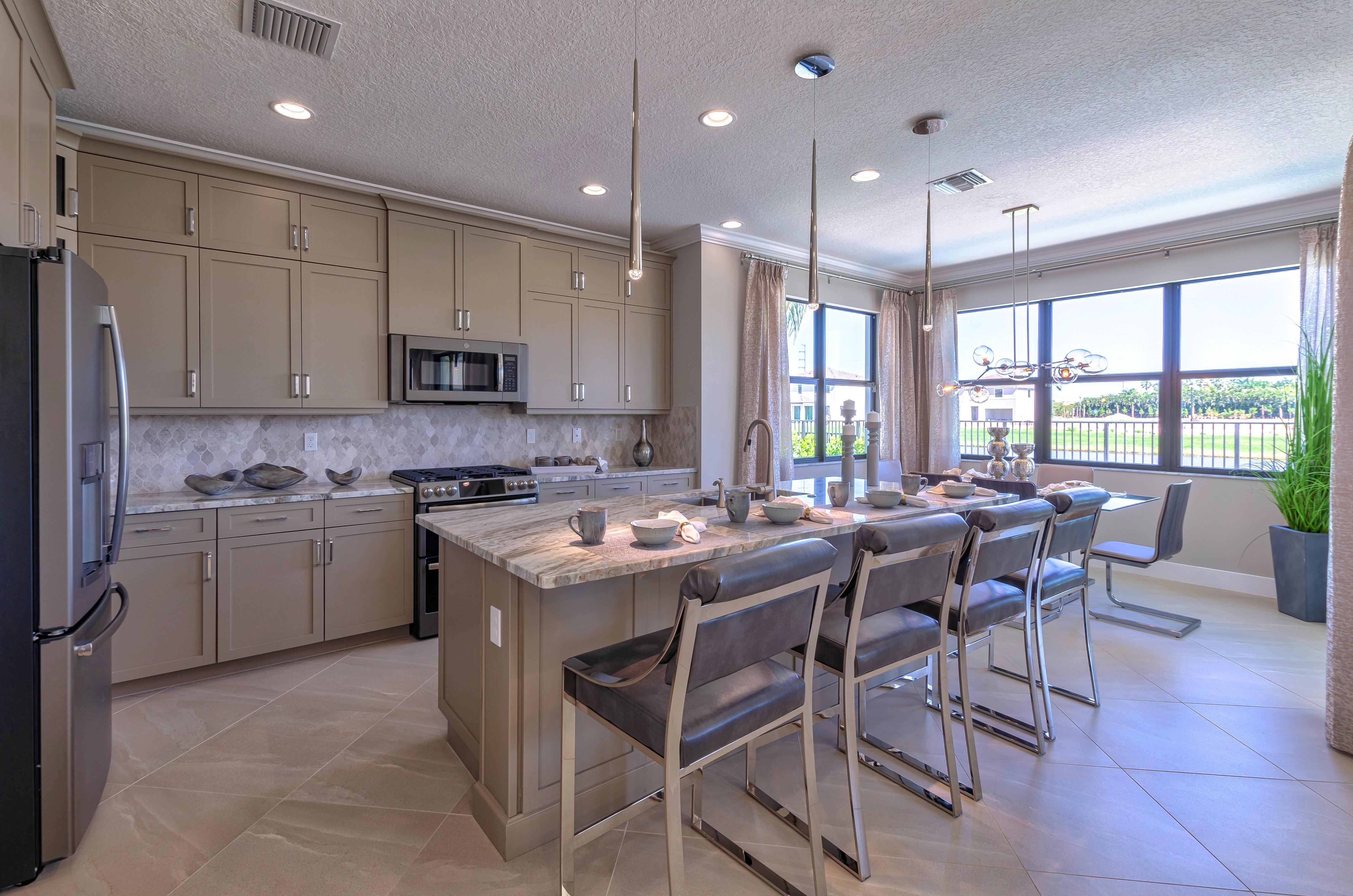 Kitchen featured in the Mesa By Akel Homes in Palm Beach County, FL
