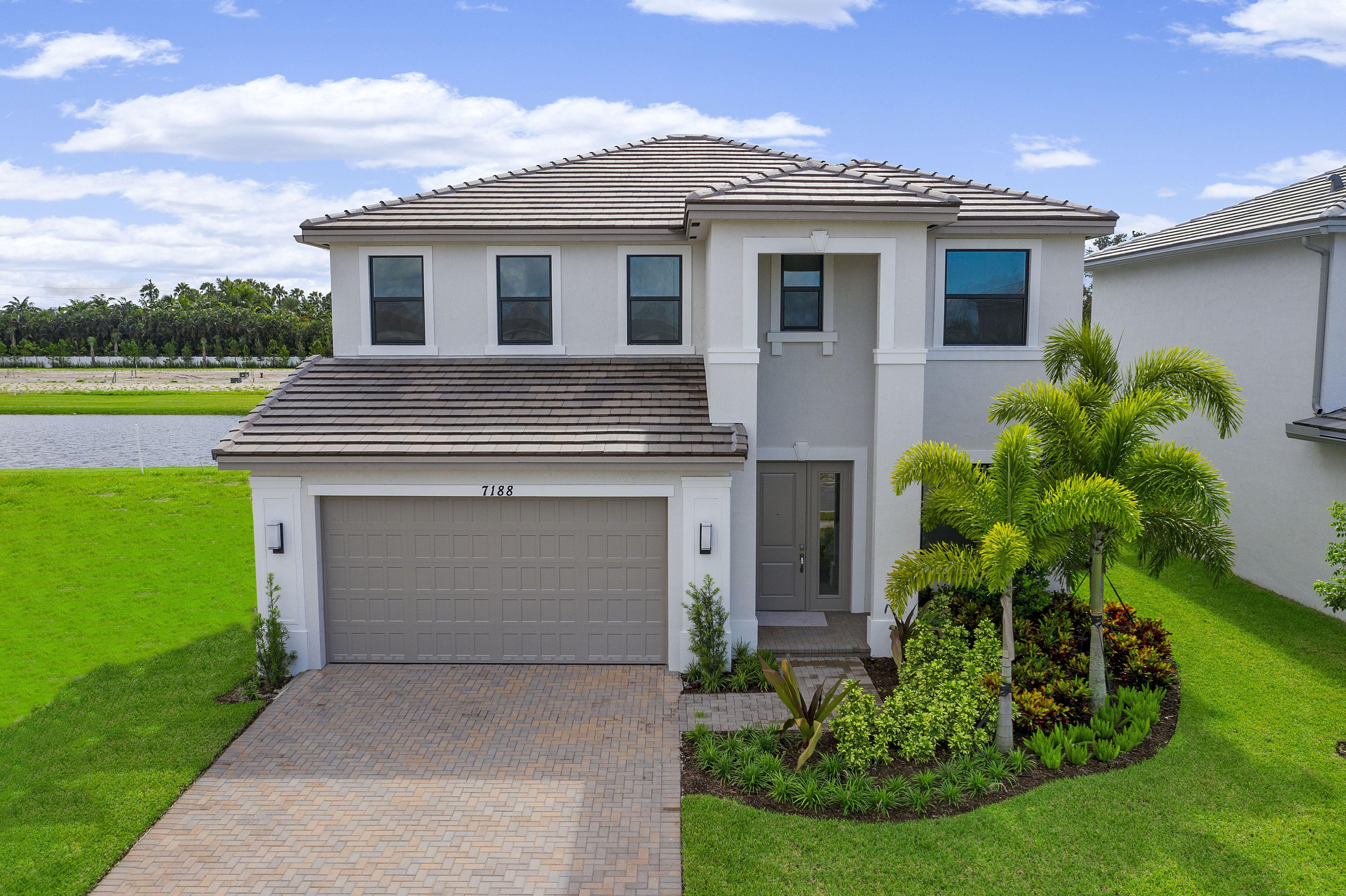 Exterior featured in the Mesa By Akel Homes in Palm Beach County, FL