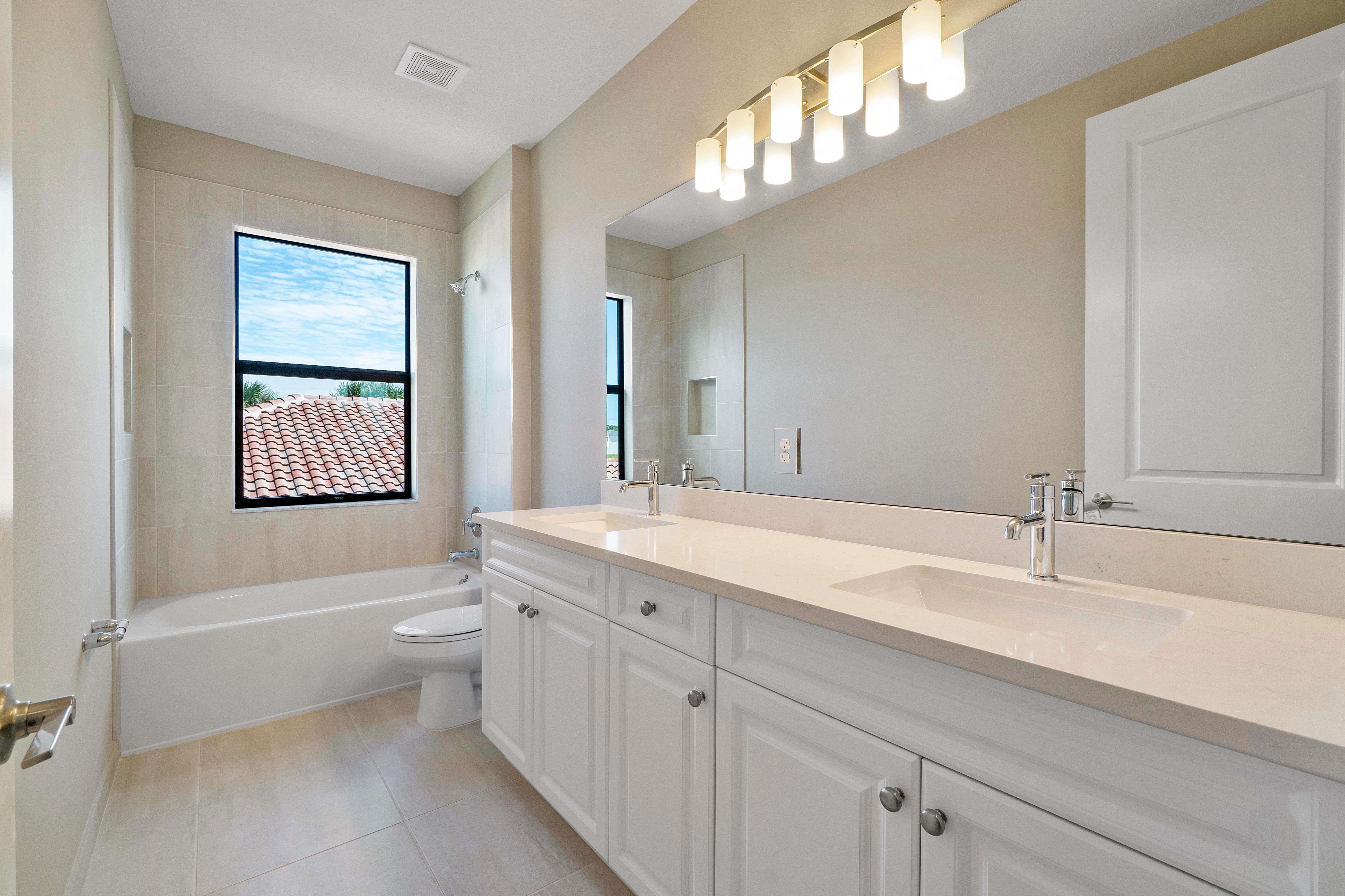 Bathroom featured in the Riviera By Akel Homes in Palm Beach County, FL