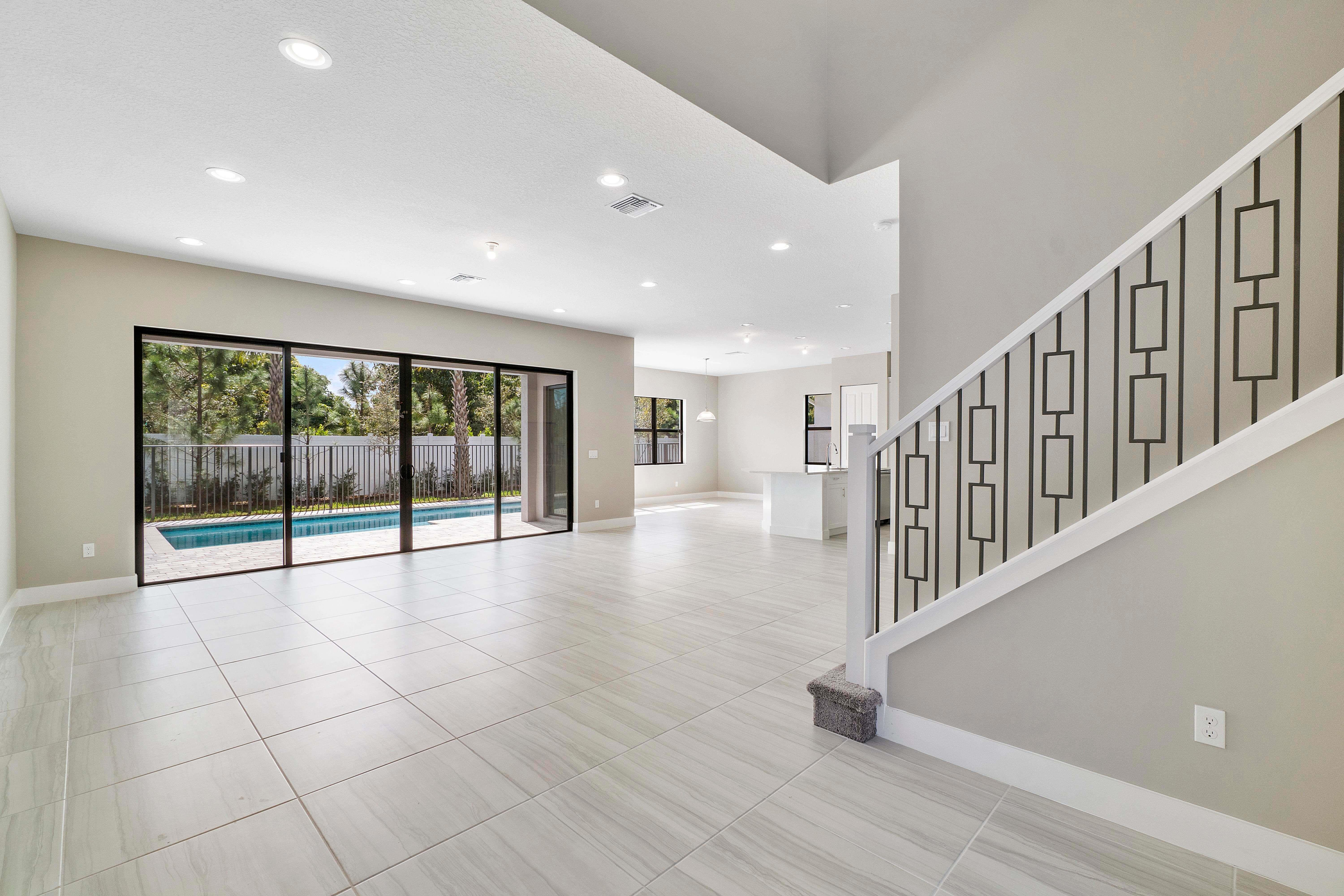 Living Area featured in the Riviera By Akel Homes in Palm Beach County, FL