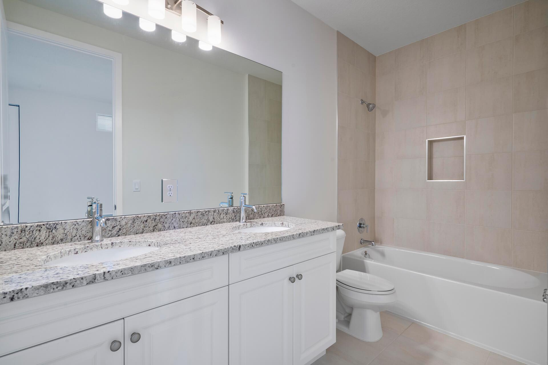 Bathroom featured in the Palma By Akel Homes in Palm Beach County, FL