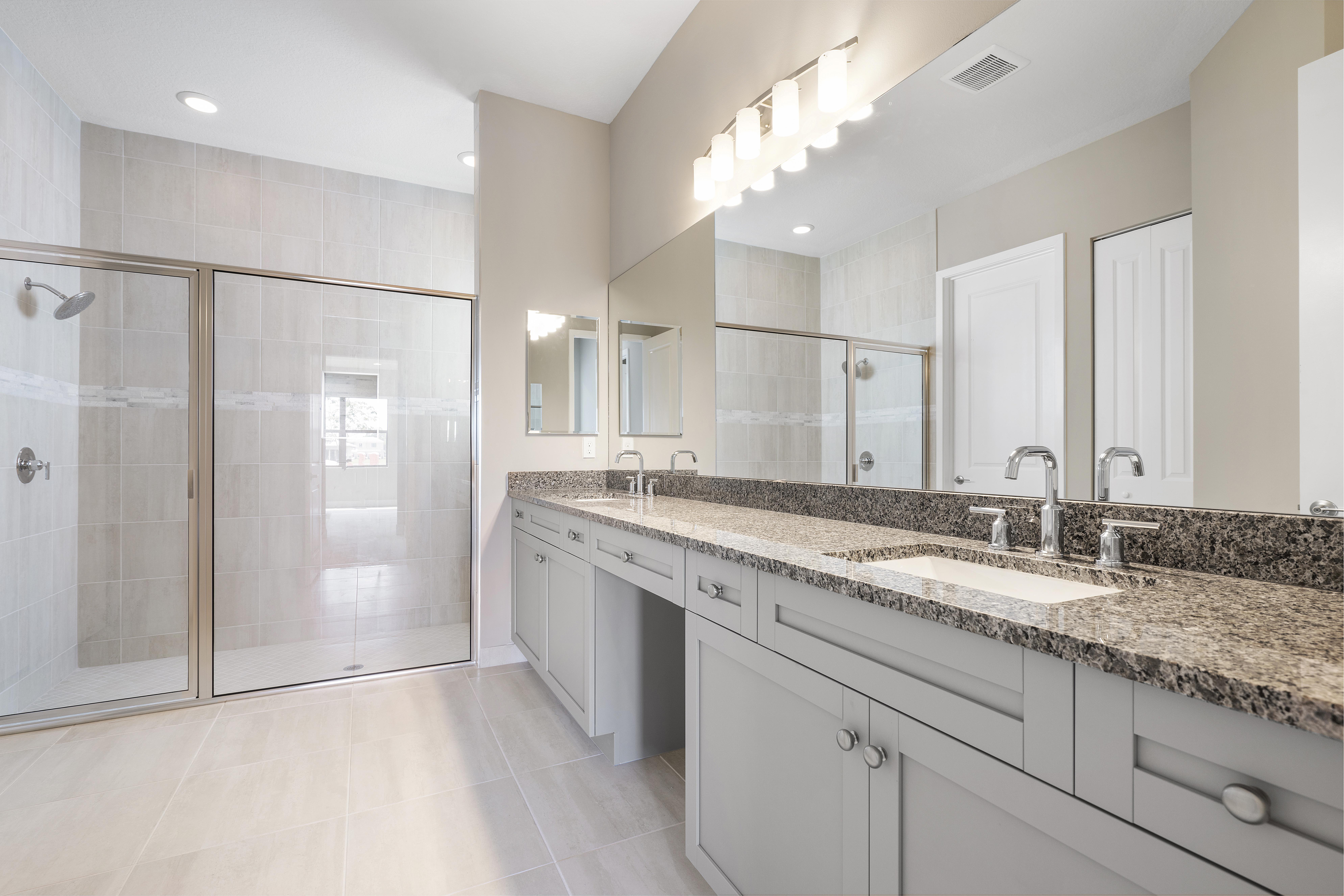 Bathroom featured in the Lago By Akel Homes in Palm Beach County, FL
