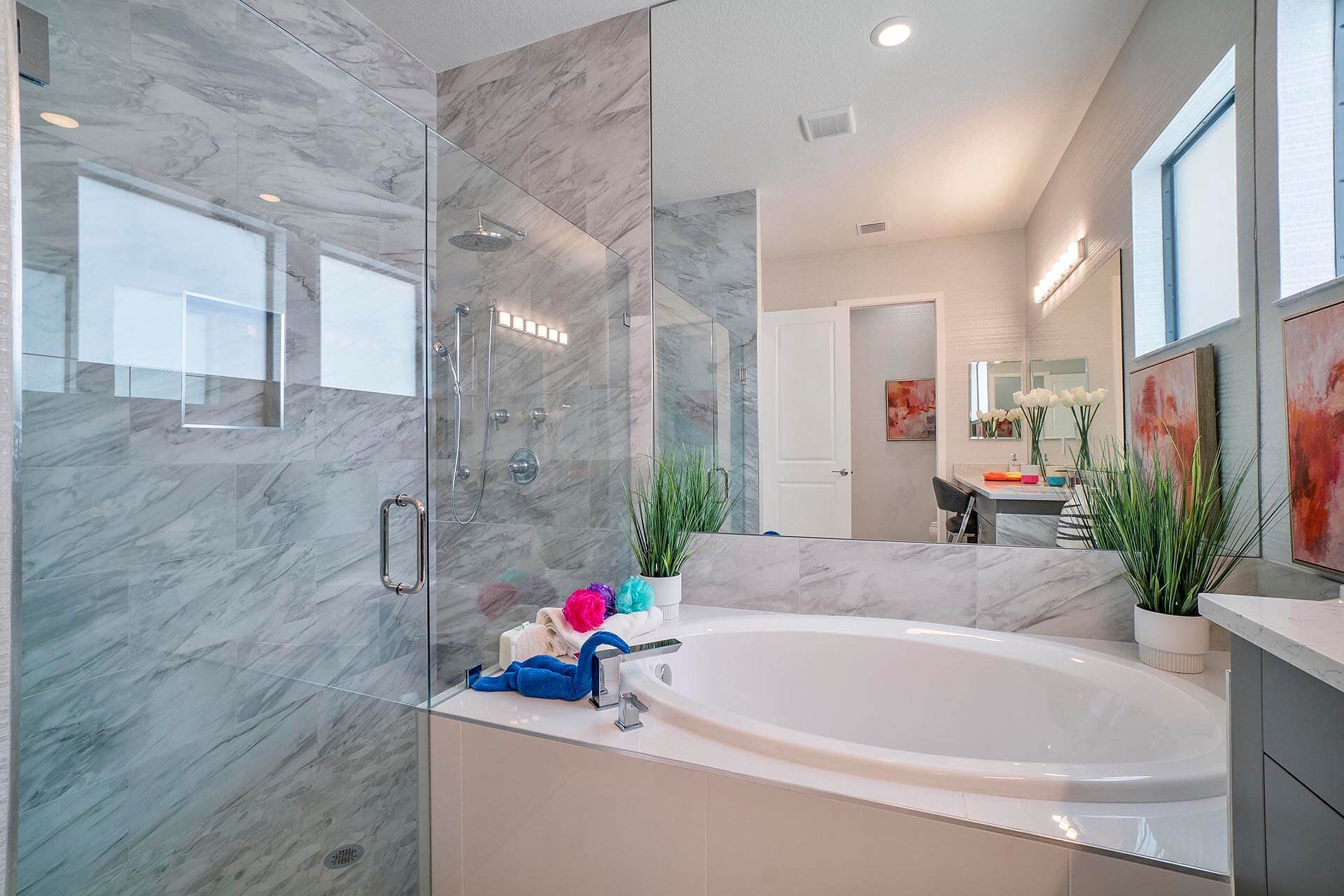 Bathroom featured in the Rio Grand By Akel Homes in Palm Beach County, FL