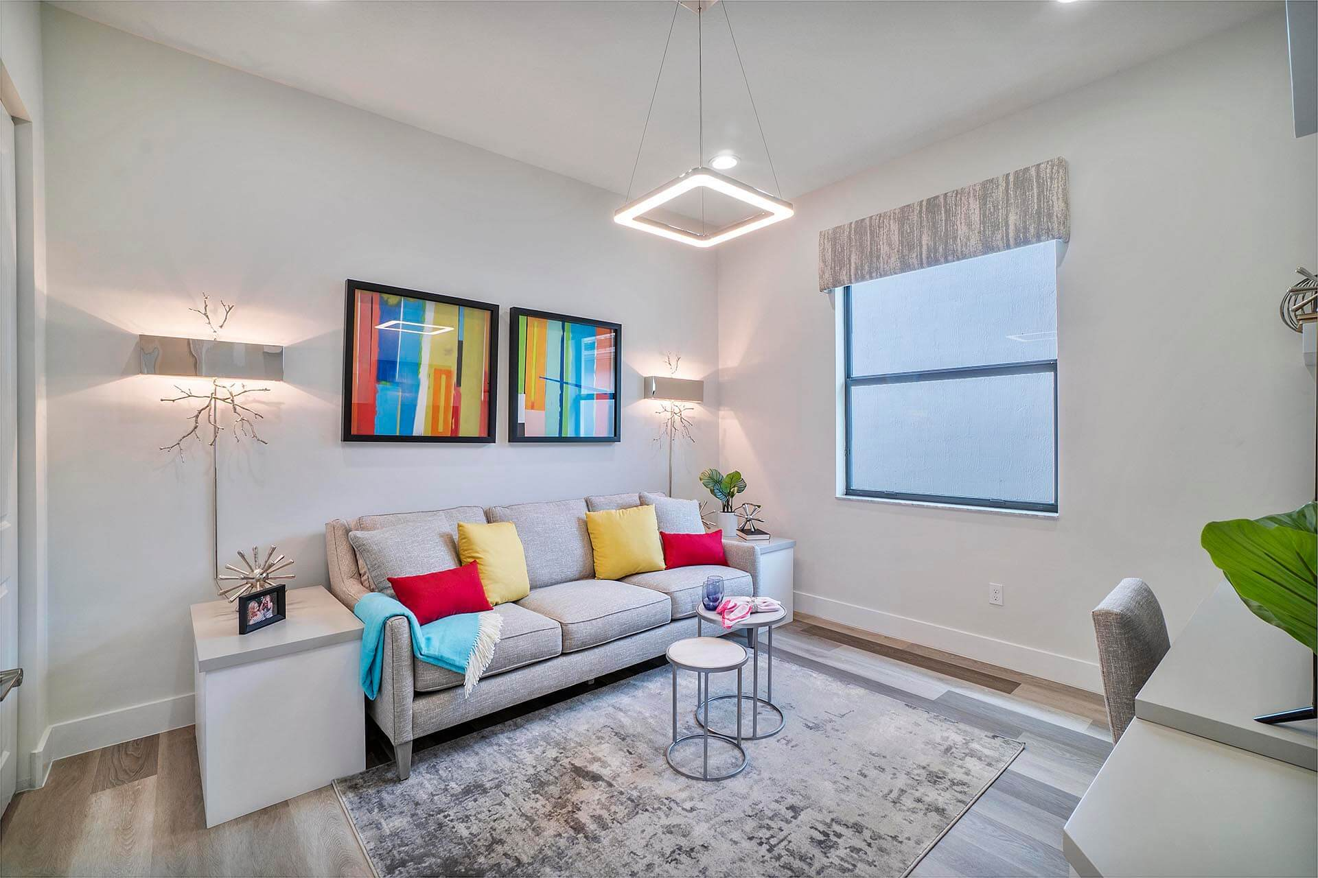 Living Area featured in the Rio Grand By Akel Homes in Palm Beach County, FL