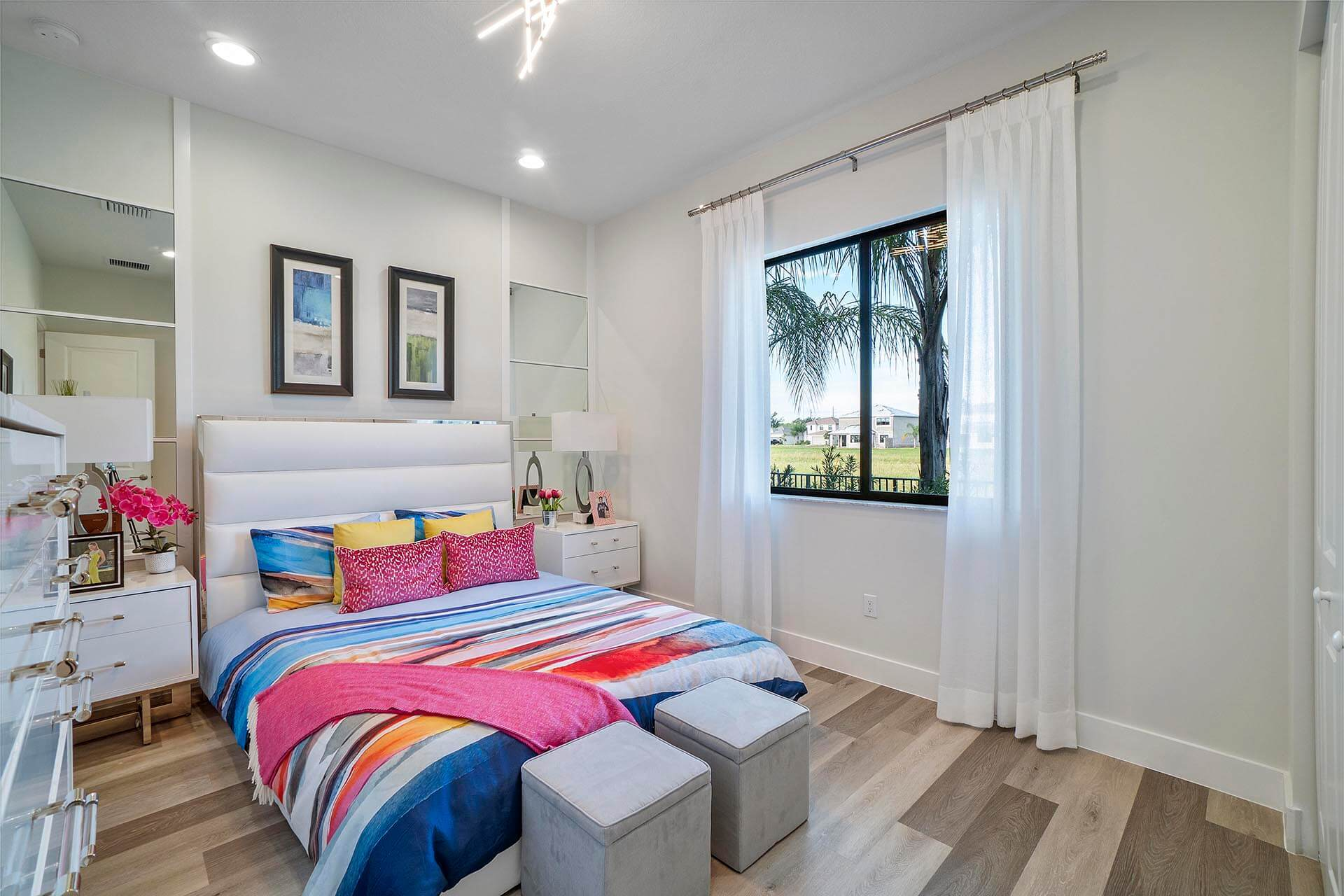 Bedroom featured in the Rio Grand By Akel Homes in Palm Beach County, FL