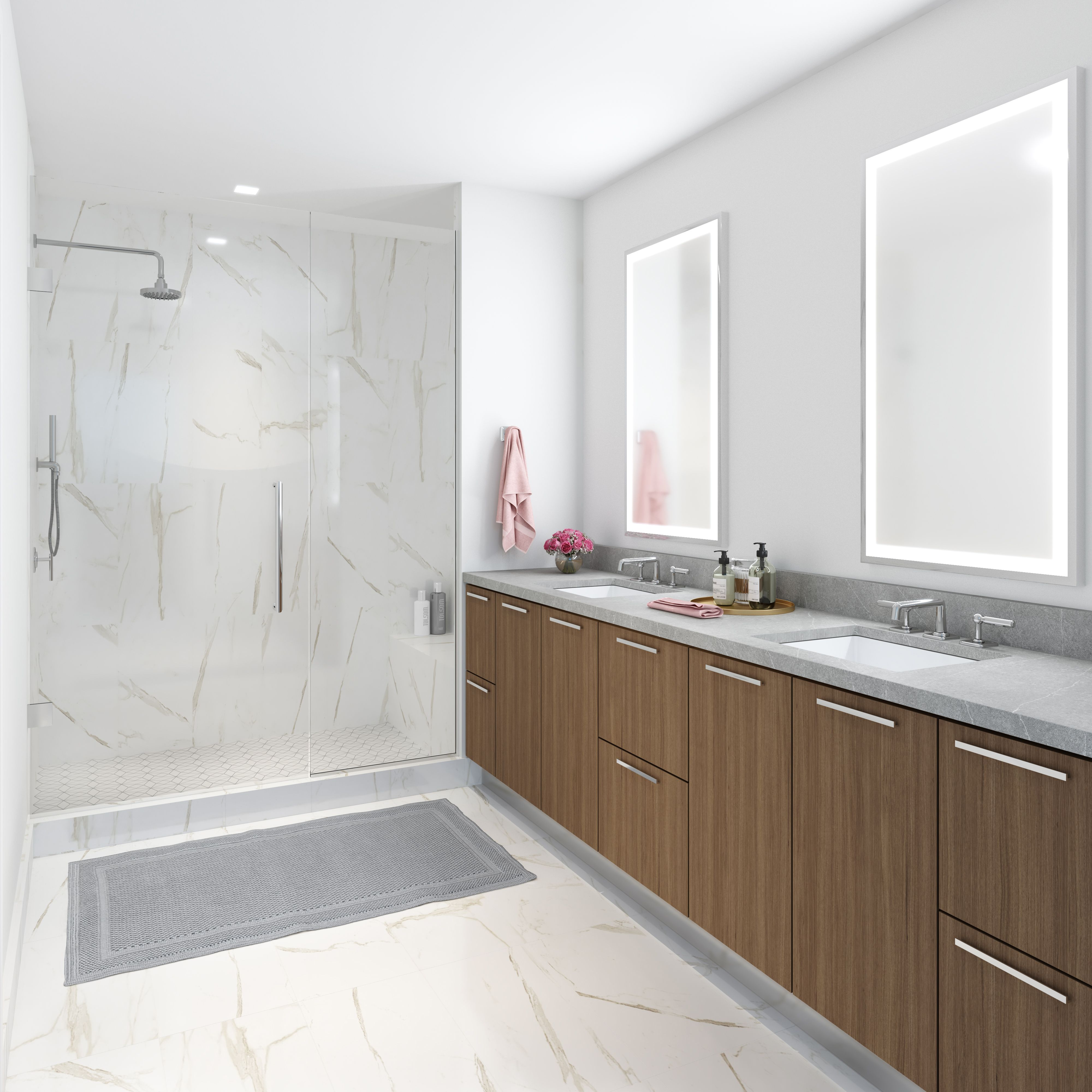 Bathroom featured in the Residence C8 By MUSE in Washington, VA