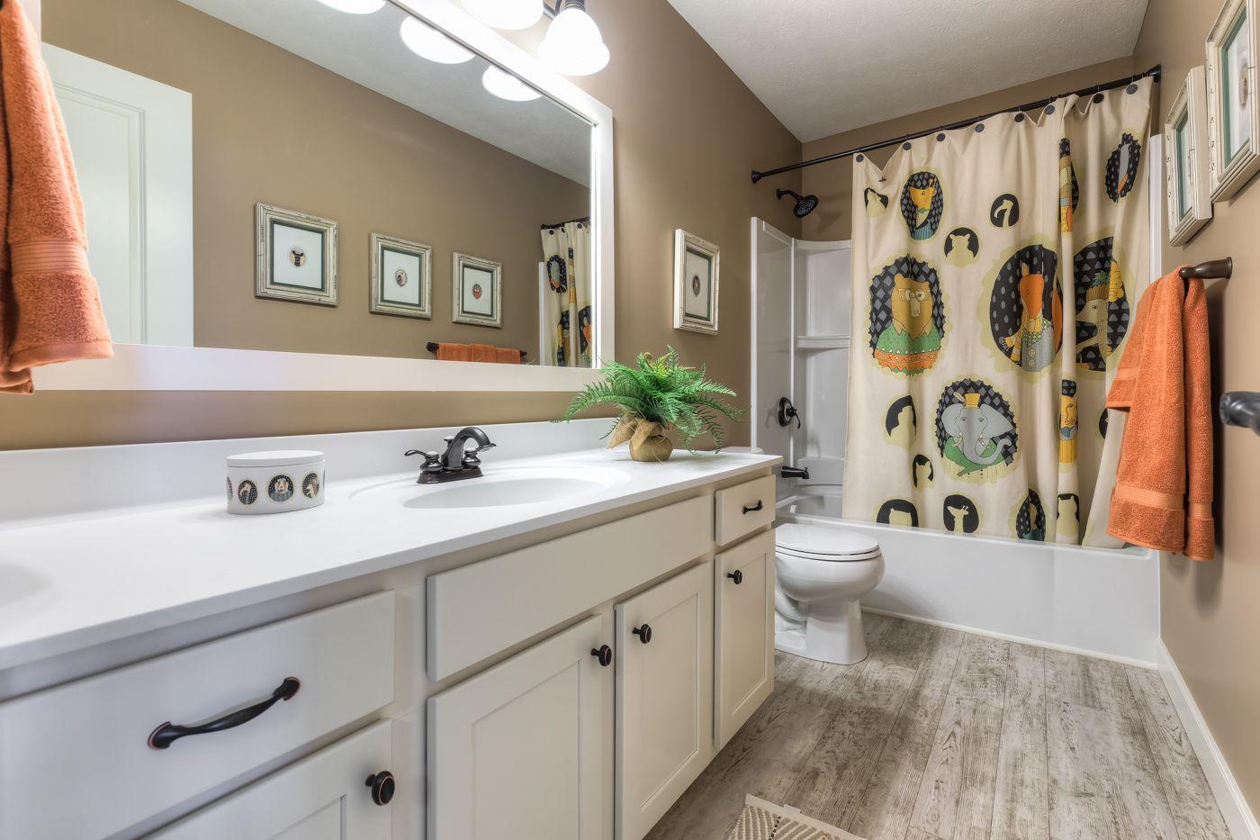 Bathroom featured in the Elements 2390 By Allen Edwin Homes in Kalamazoo-Battle Creek, MI