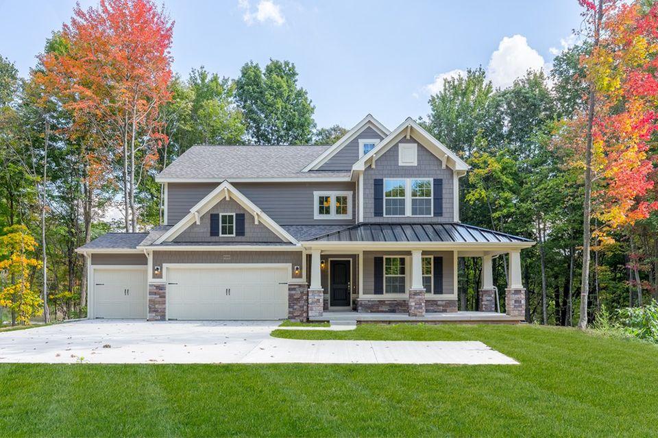 Diamond glen in howell mi by allen edwin homes for Home builders in michigan