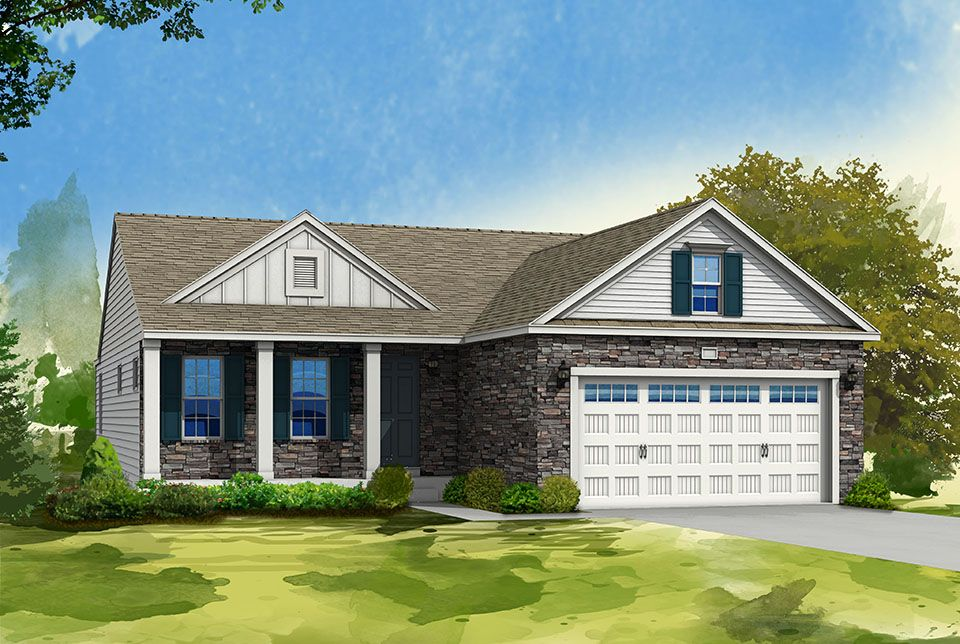 Exterior featured in the Elements 1400 By Allen Edwin Homes in South Bend, IN