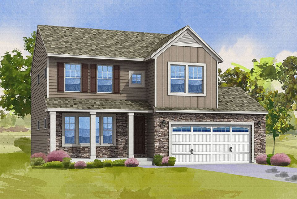Elements 1680 Home Plan by Allen Edwin Homes in Plan Library All