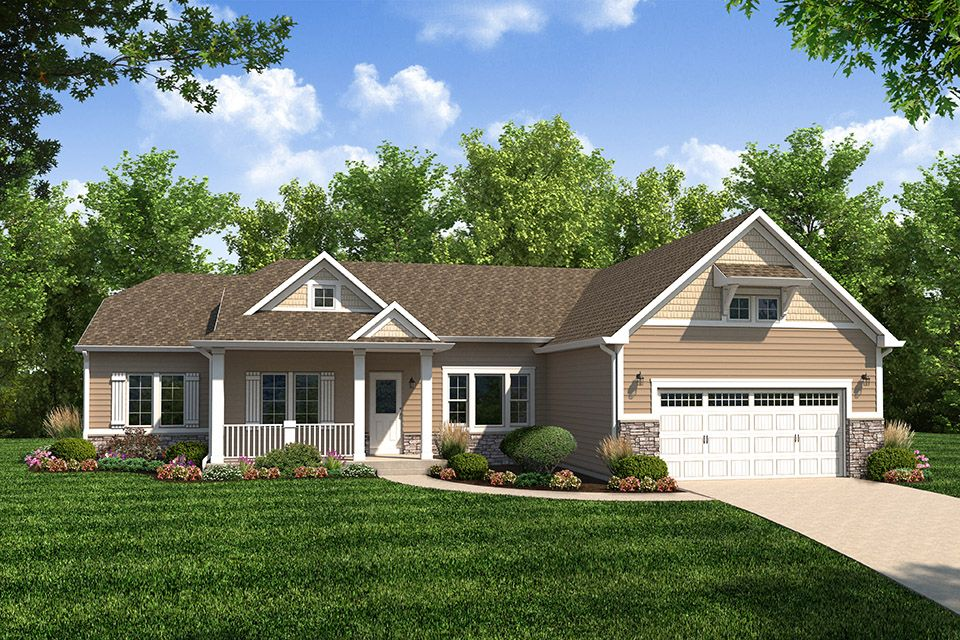 Traditions 2350 Home Plan By Allen Edwin Homes In The