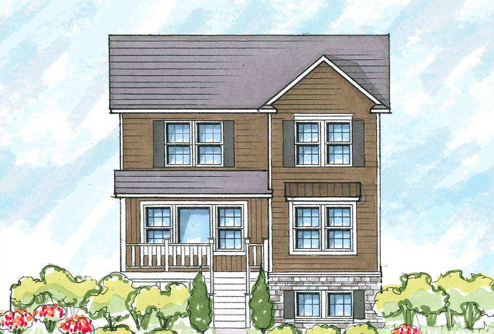 Kensington 1890 Home Plan By Allen Edwin Homes In