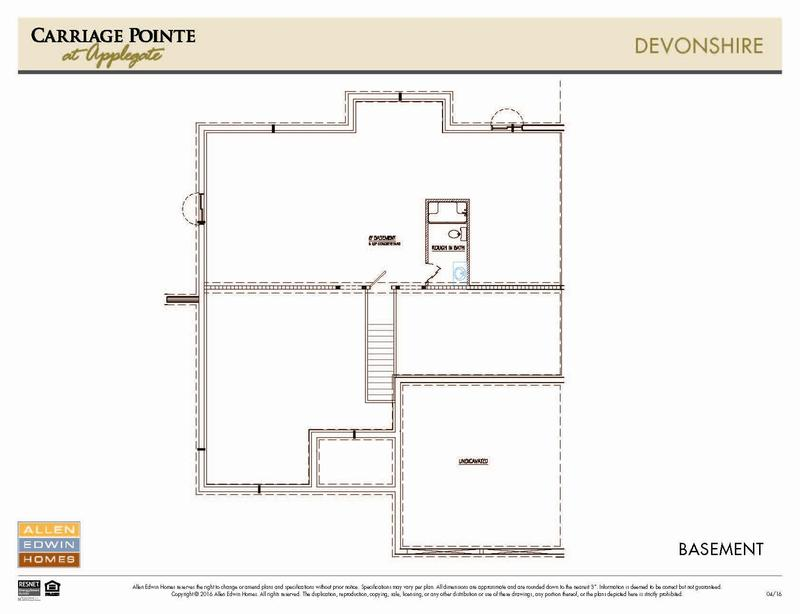 Devonshire model at 7926 preakness ct for Devonshire floor plan
