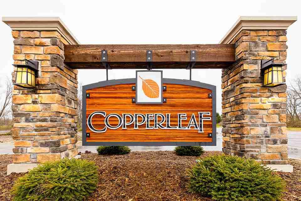 Copperleaf Entrance